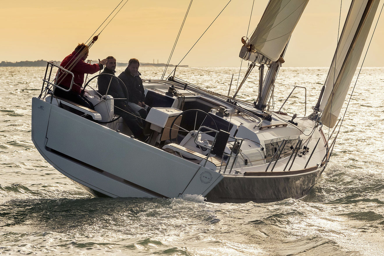 Dufour Grand Large 382 Sailing Yacht Charter in Algarve