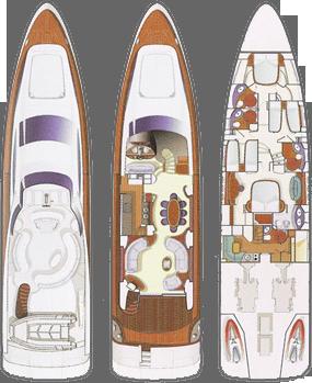 Azimut 80 Yacht Layout