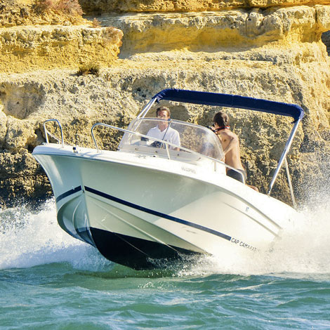 Jeanneau CC 635 1 Day + Boat Hire from Portimao