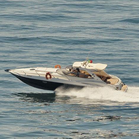 Sunseeker Superhawk 34: 1 Hour Cruise from Vilamoura
