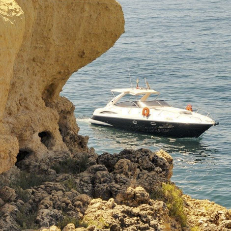 Sunseeker Superhawk 34 Afternoon Cruise from Vilamoura