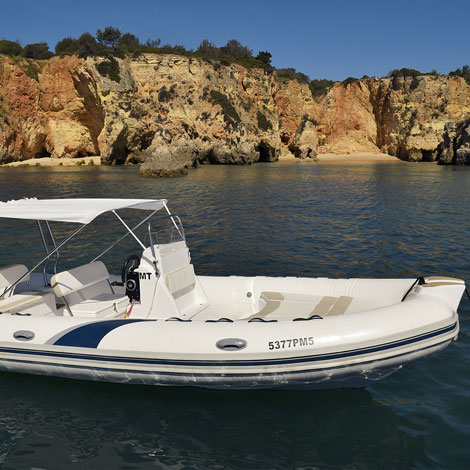 1 Day + Boat Hire from Portimao