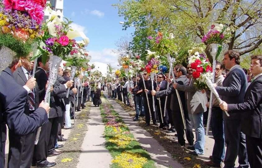 Flower Torch Festival of São Brás de Alportel, Algarve