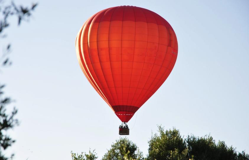 Passeio de balão de ar quente, Algarve