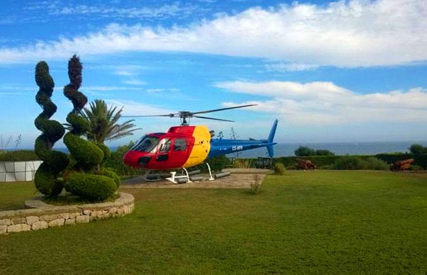 Hélicoptère en Algarve