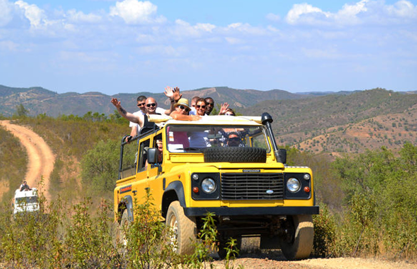 Jeep Safari, Algarve