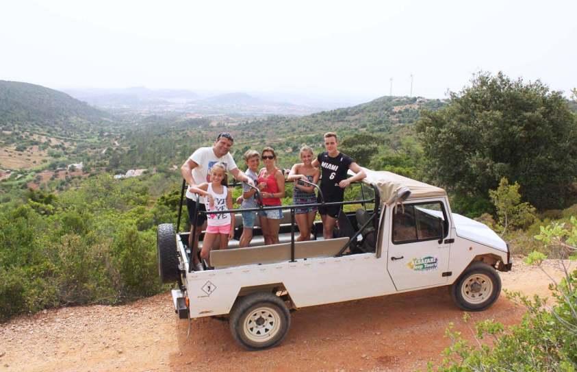 Джип-сафари в Алгарве