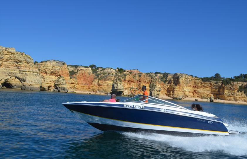 Passeio de Barco a Motor - Algarve