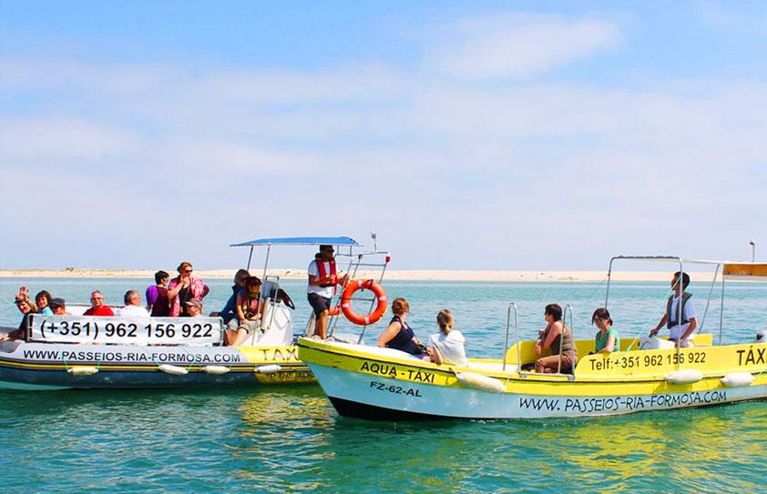 Bateau Taxi en Algarve