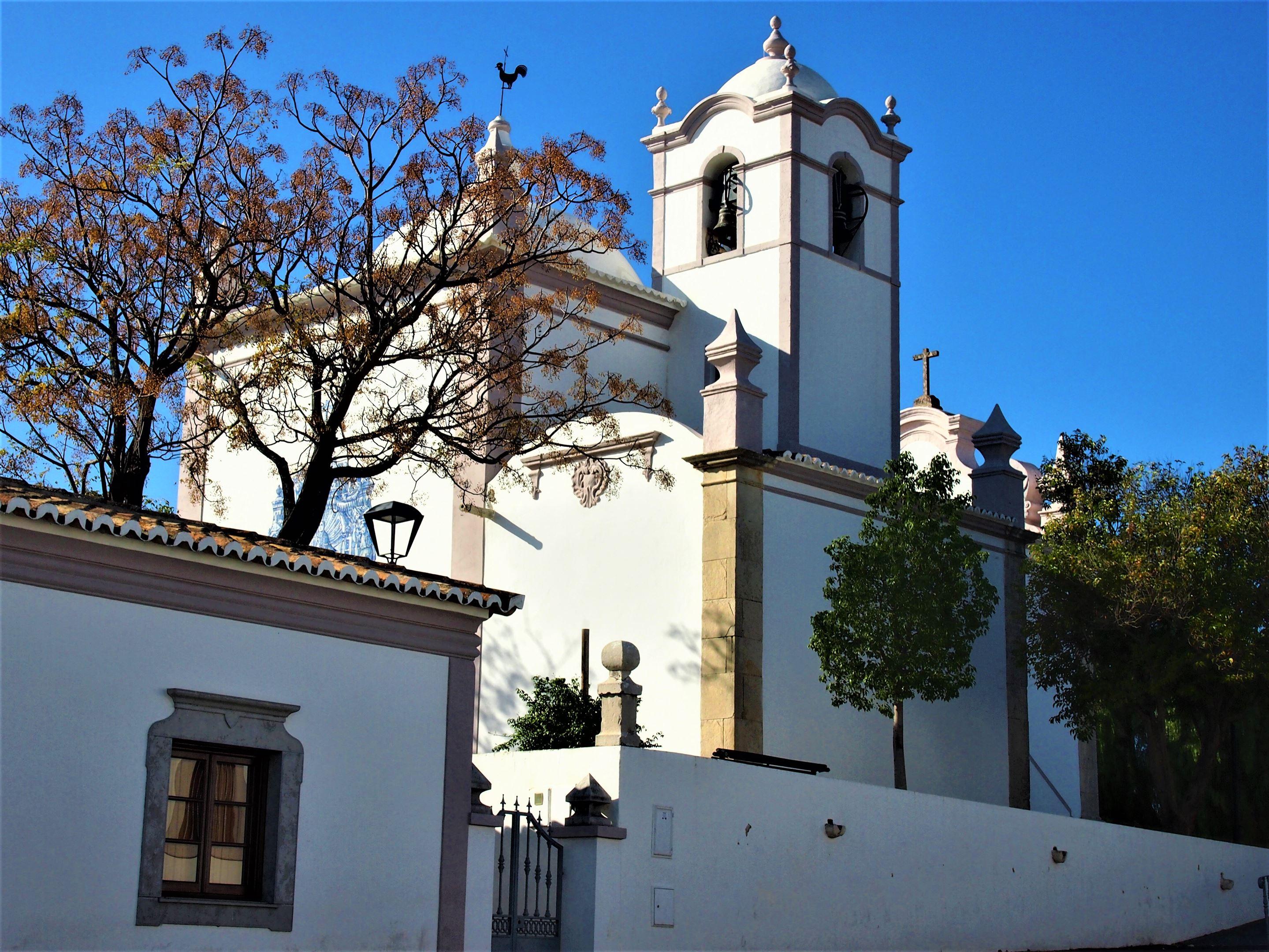 The church of São Lourenço de Almancil