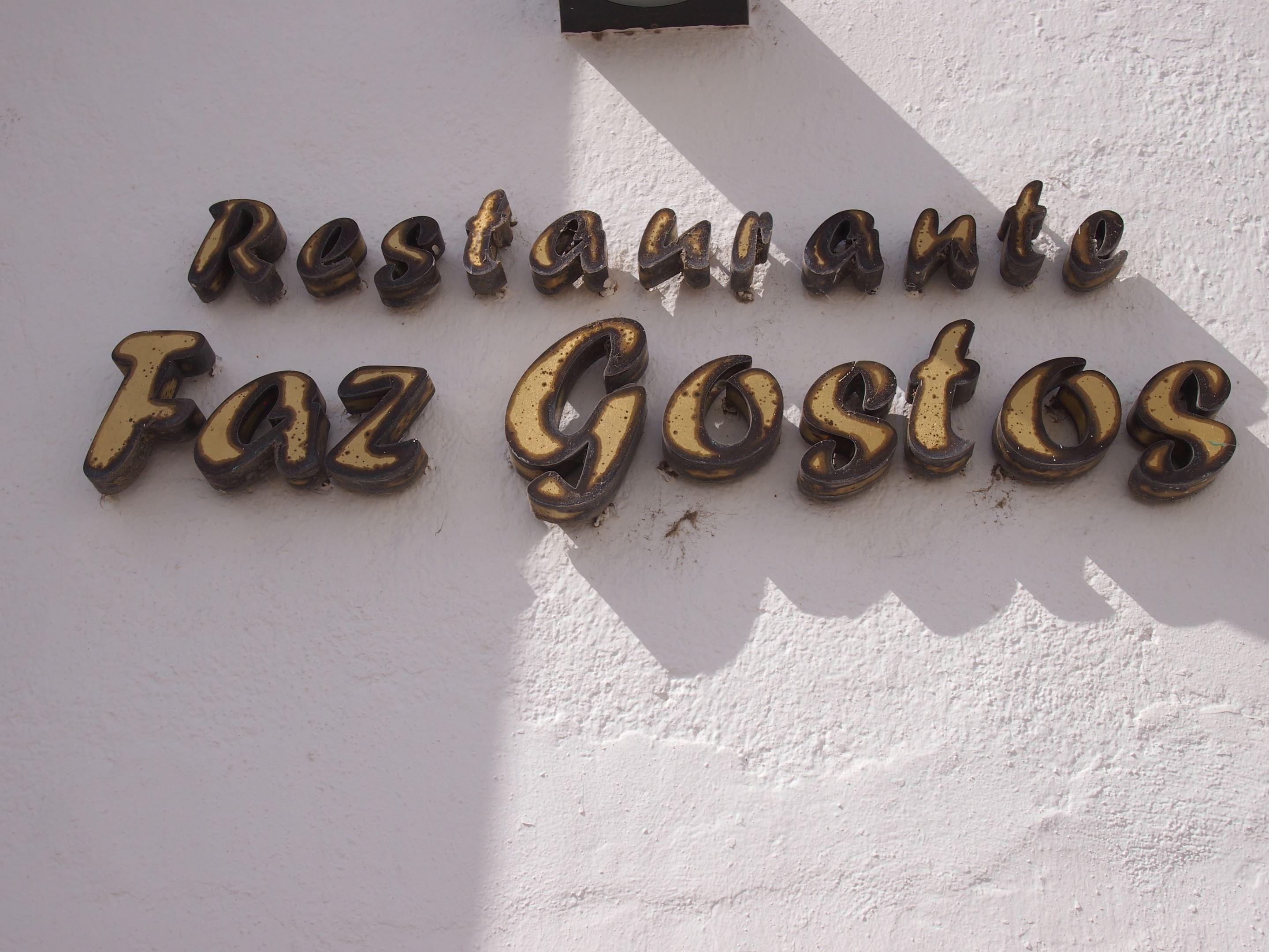Faz Gostos restaurant, Faro