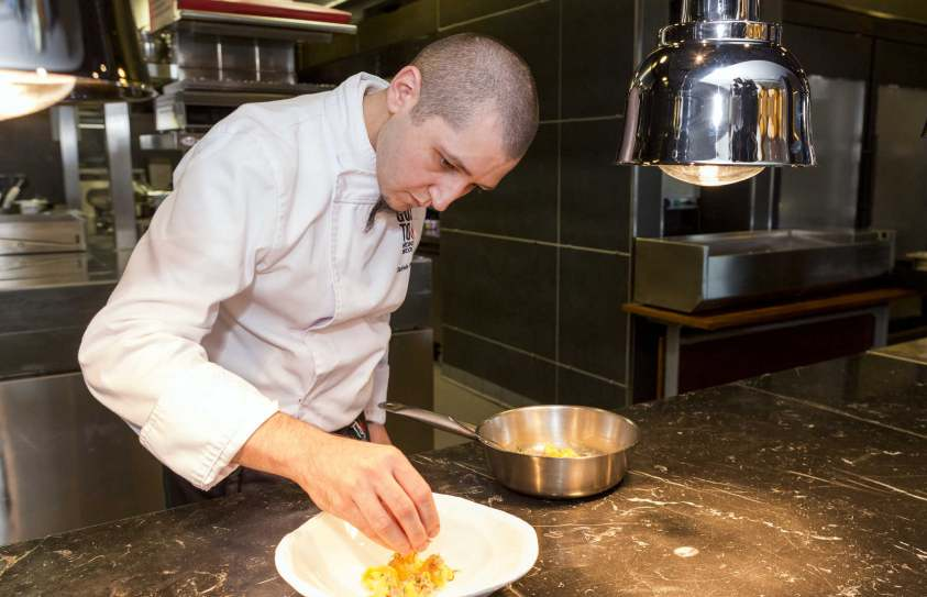 Gusto by Heinz Beck Restaurant Chef Daniele Pirillo