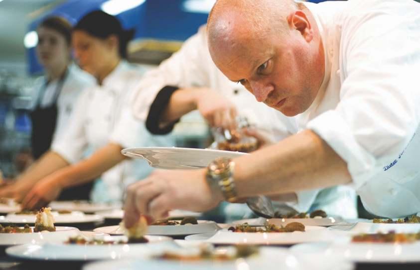 Vila Joya Restaurant Chef Dieter Koschina