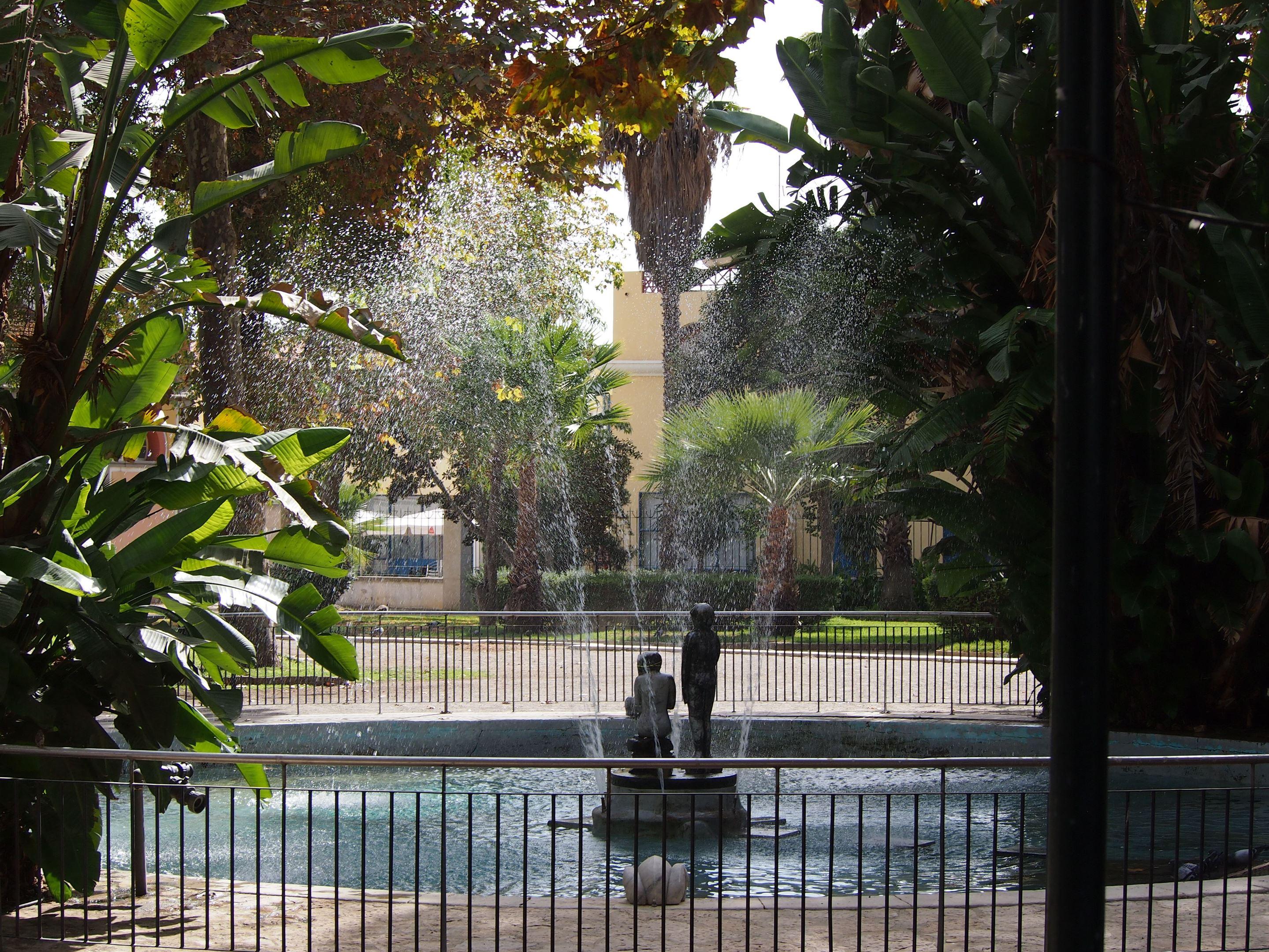 Fountain in Jardim da Alameda João de Deus, Faro