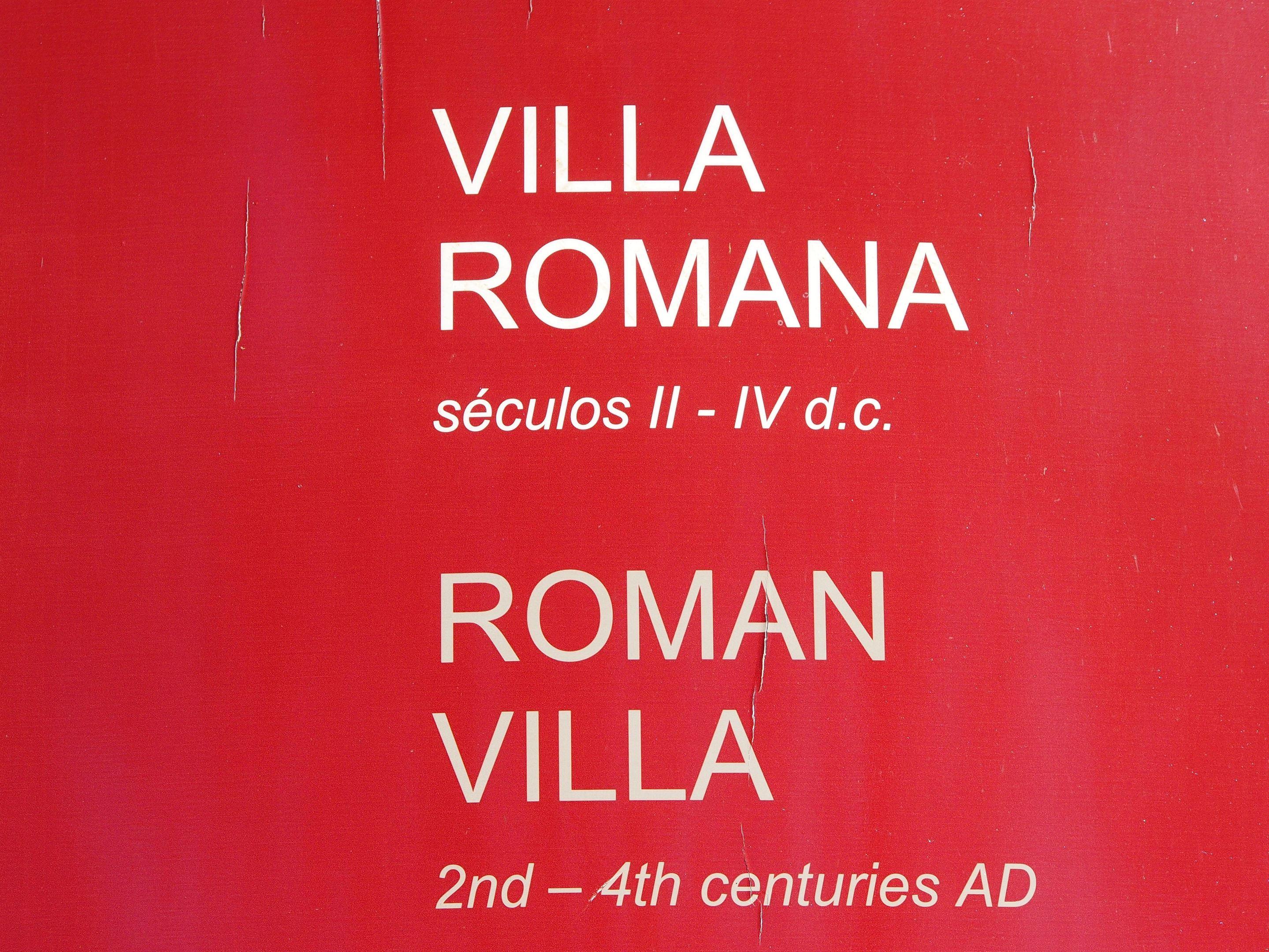 Roman Villa of Milreu, Estoi