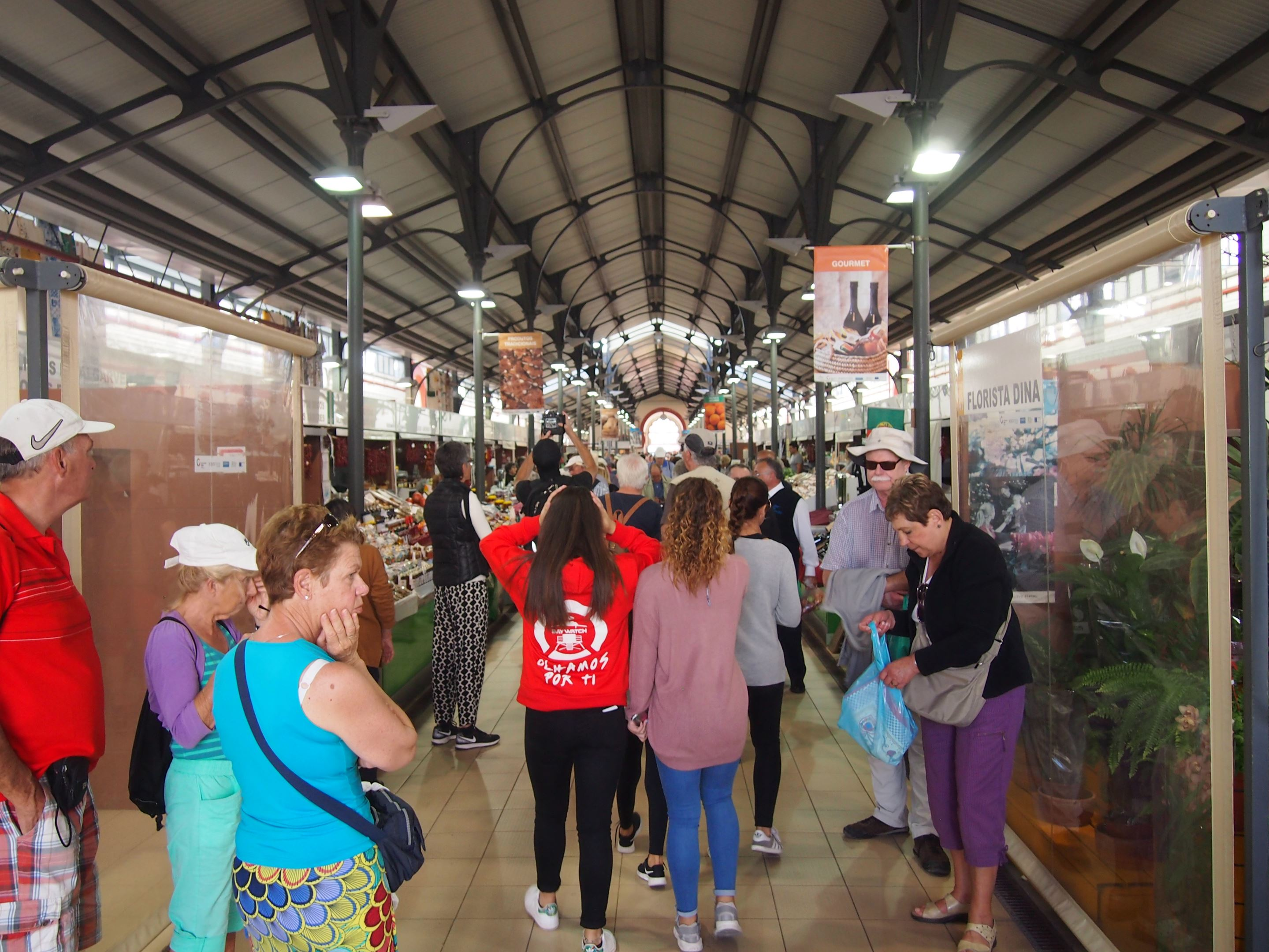 Mercado Municipal de Loulé, Algarve - Interior