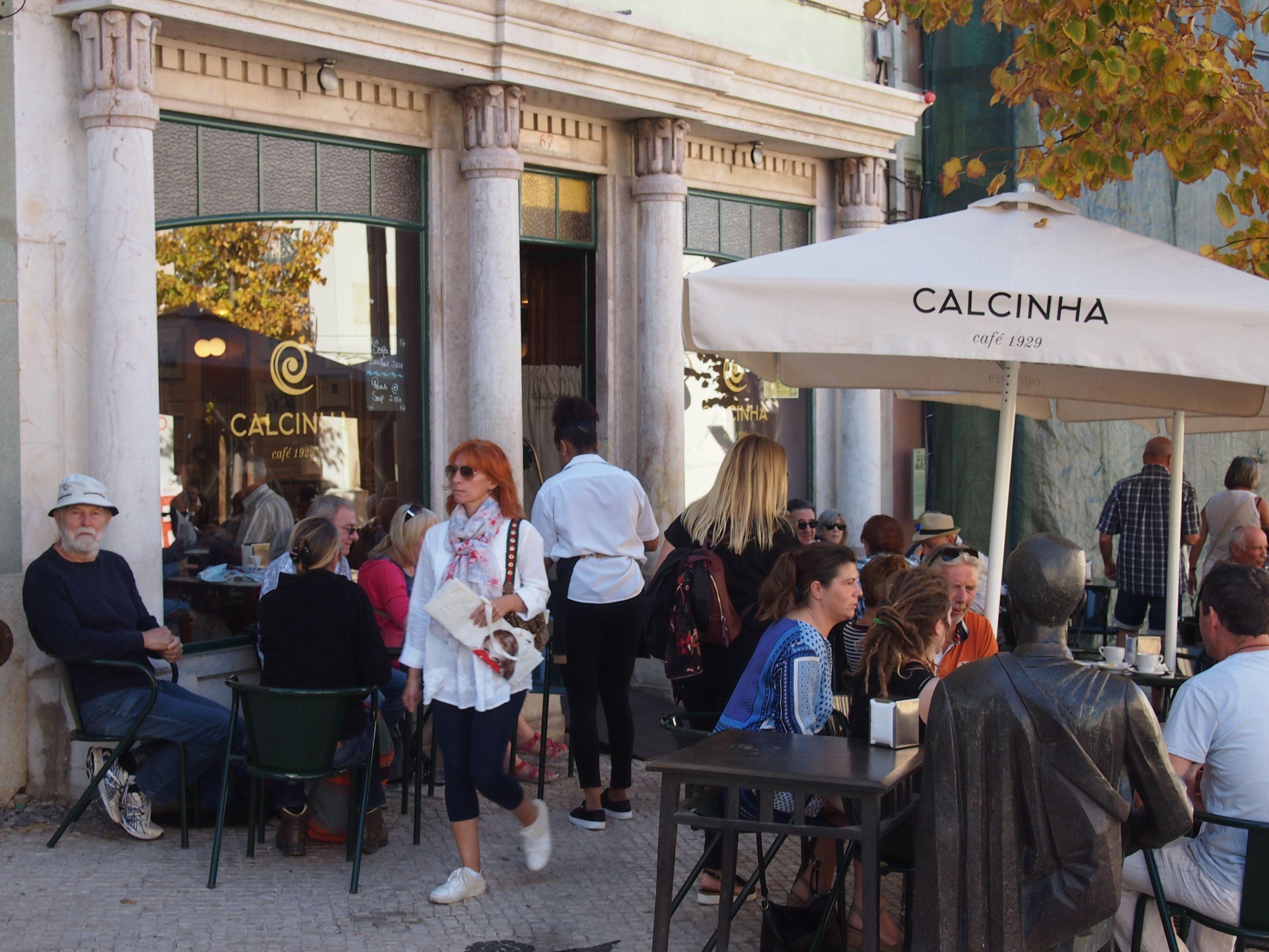 Café Calcinha, Loulé, Algarve