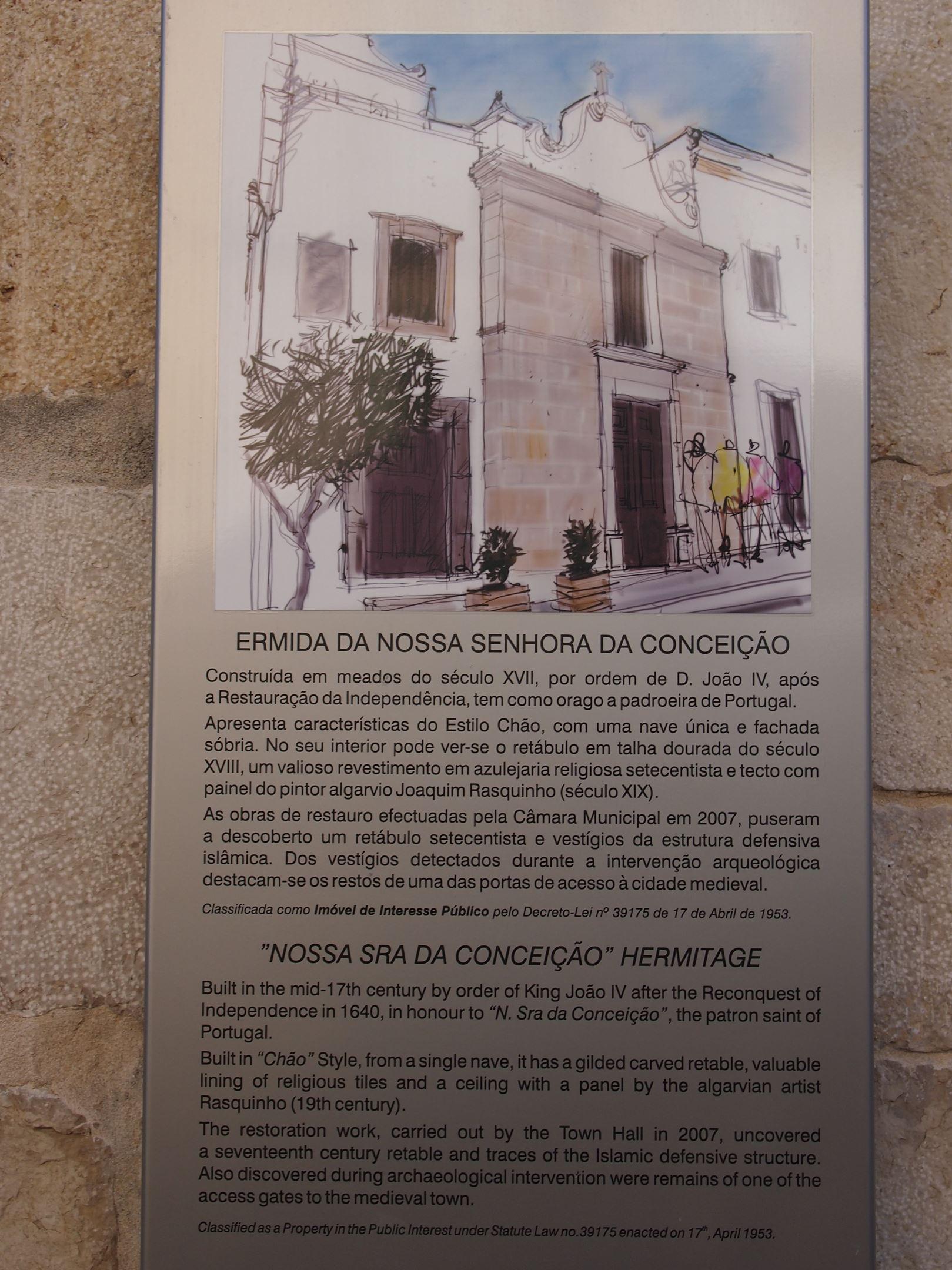 Capela de Nossa Senhora da Conceição - fatos históricos