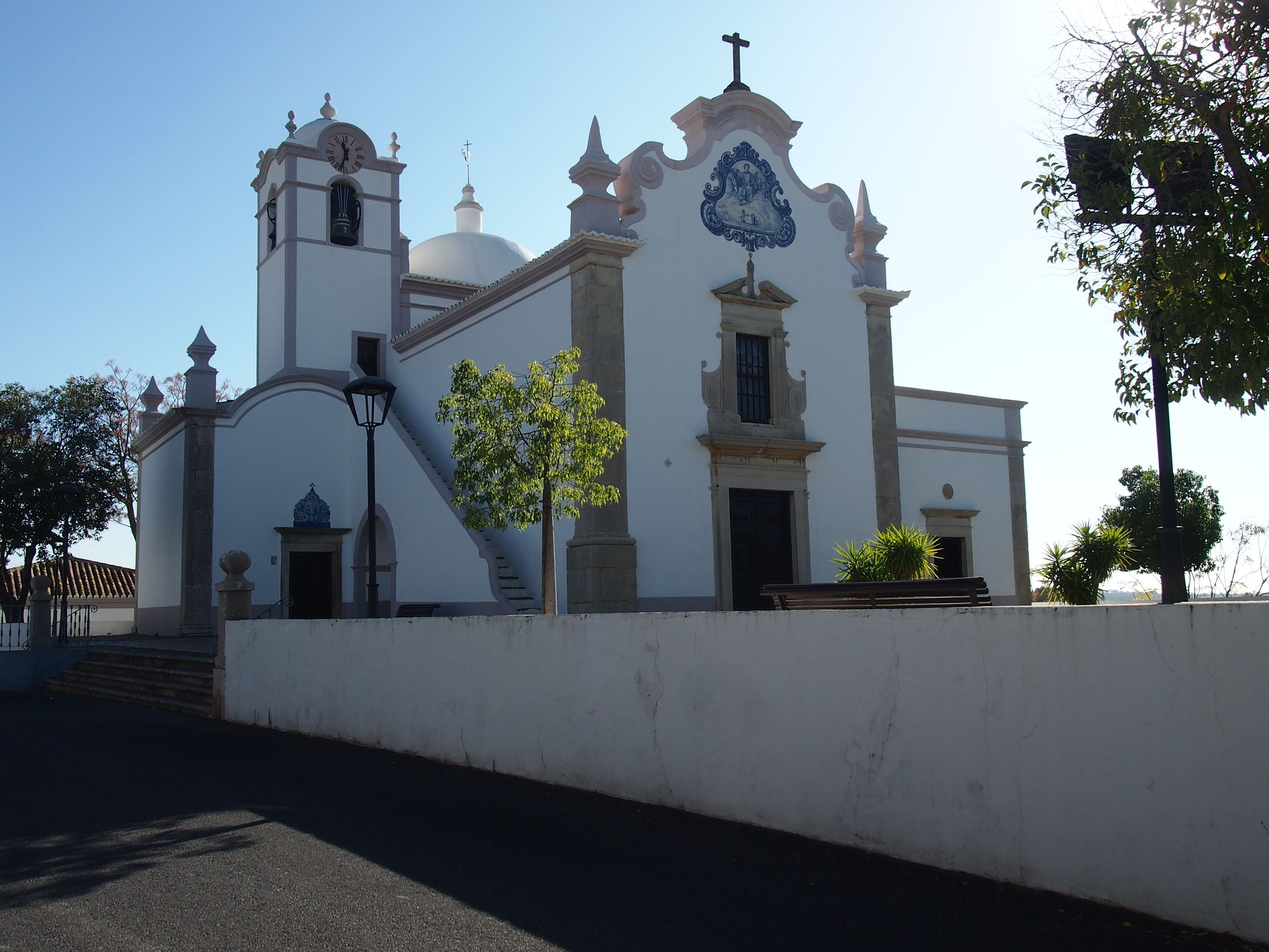 ​The church of​ ​São​ ​Lourenço​ ​near ​Almancil, Portugal