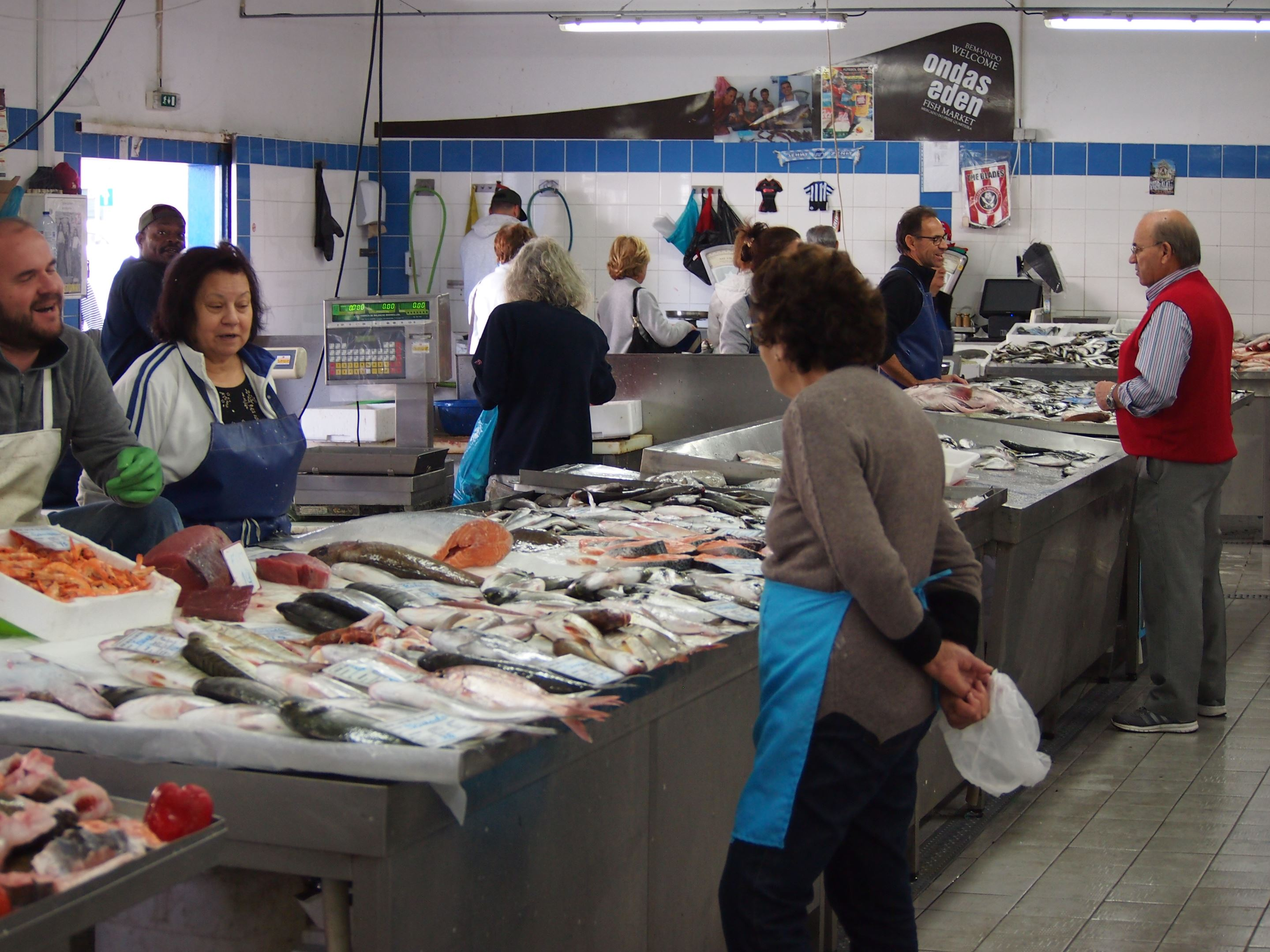 Quarteira Fish Market, Algarve