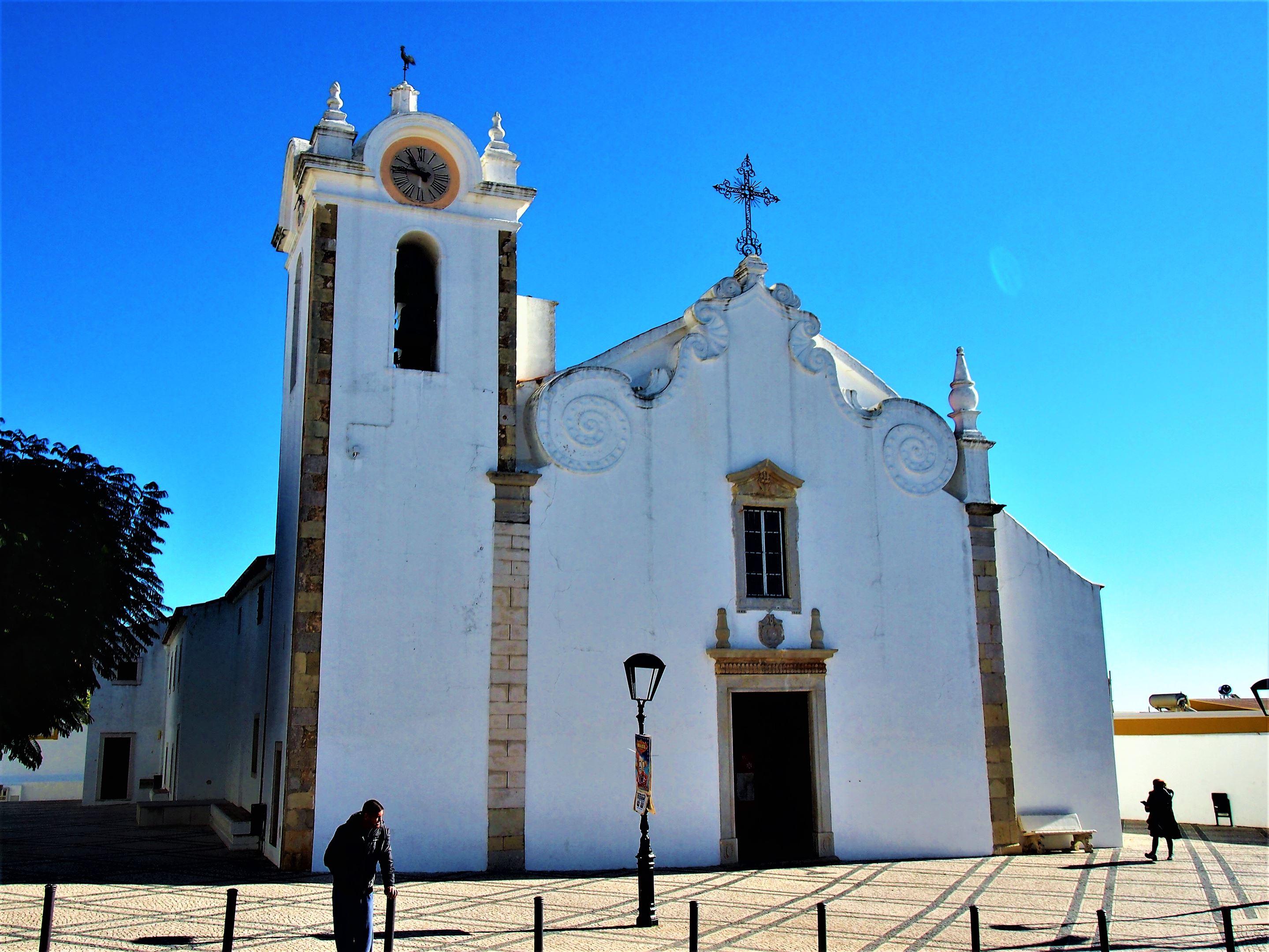 Igreja Matriz in Boliqueime - the Mother Church