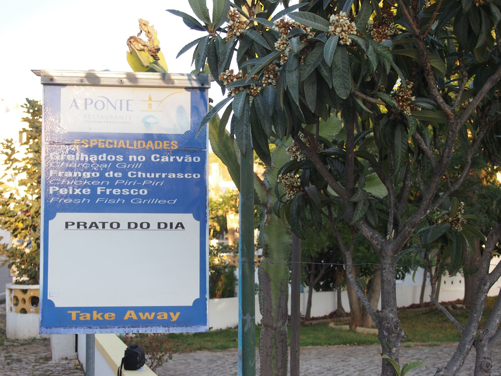 A Ponte restaurant, Alte, Algarve