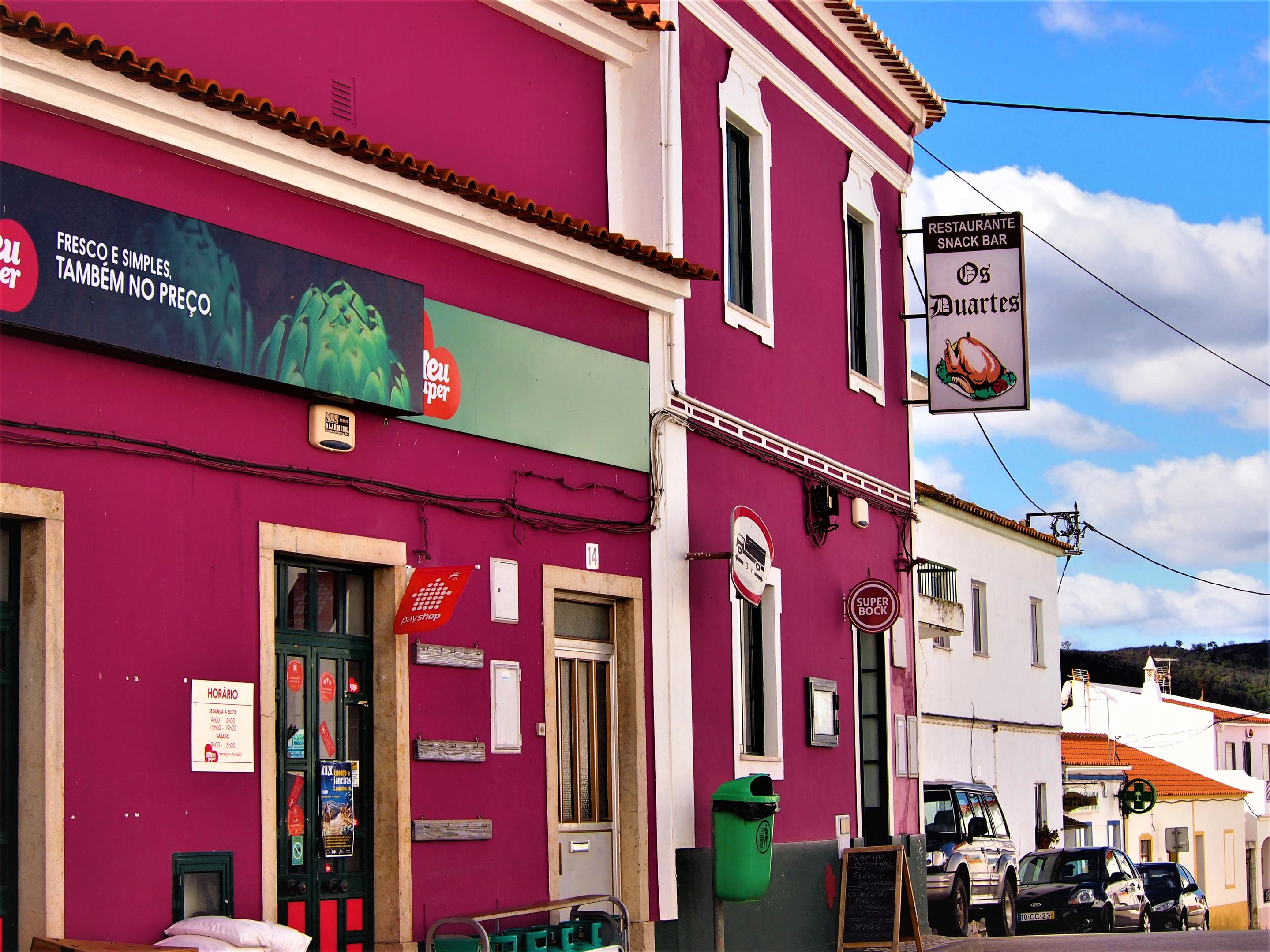 Os Duartes restaurant, São Marcos da Serra, Algarve