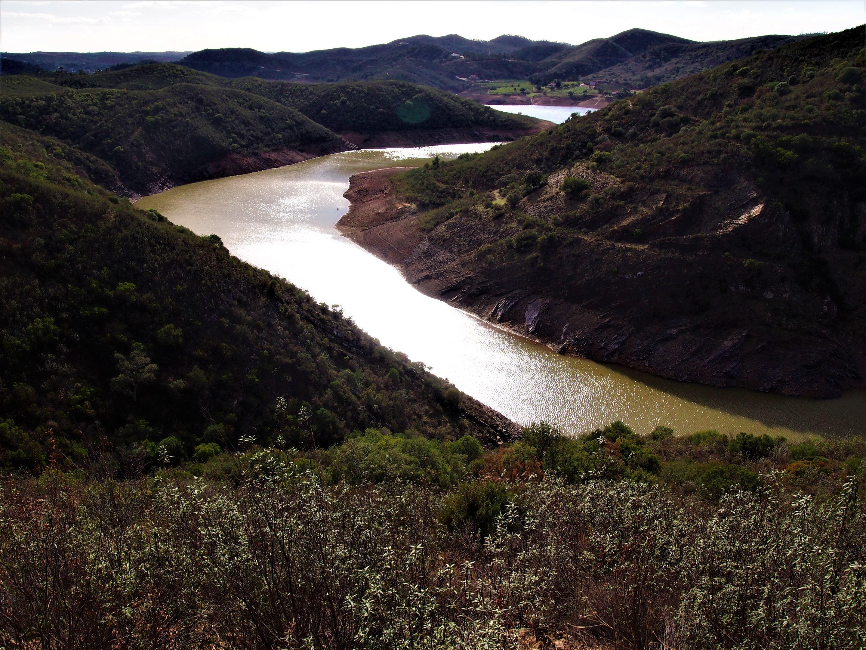 The Barragem do Funcho (or Funcho Dam), near São Bartolomeu de Messines, Algarve