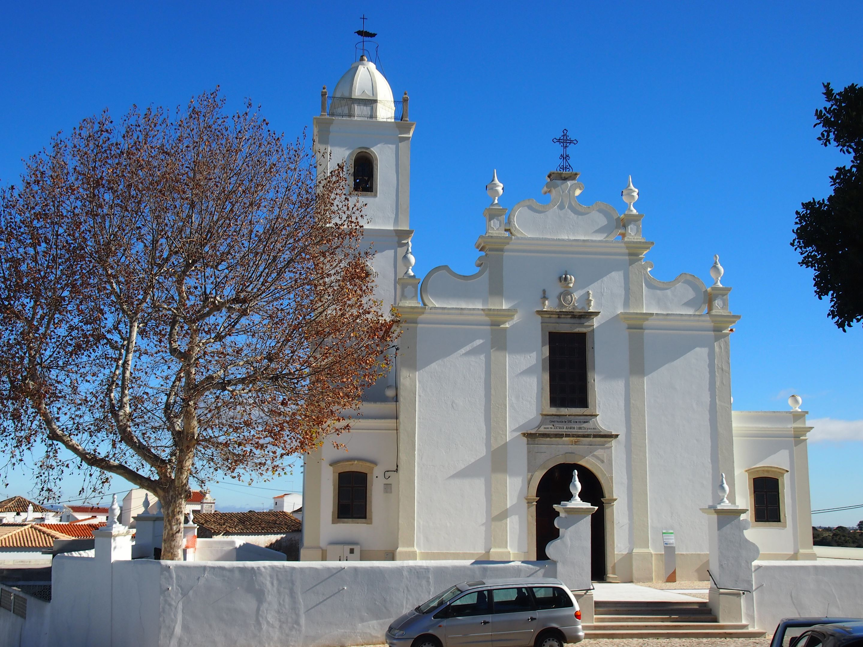 Igreja Matriz (the Mother Church) at Porches