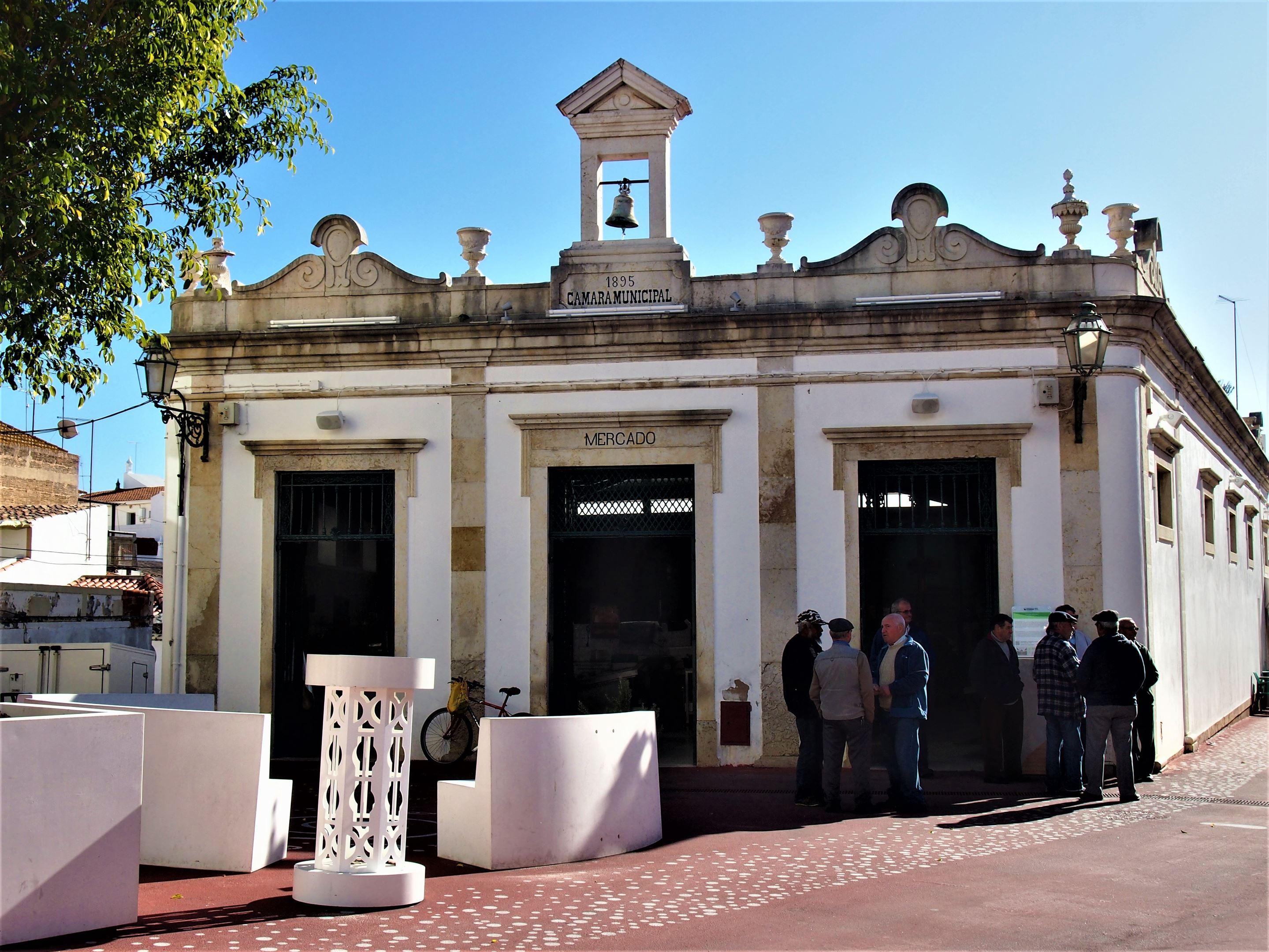 The Mercado Municipal (or Municipal Market) at Lagoa, Algarve