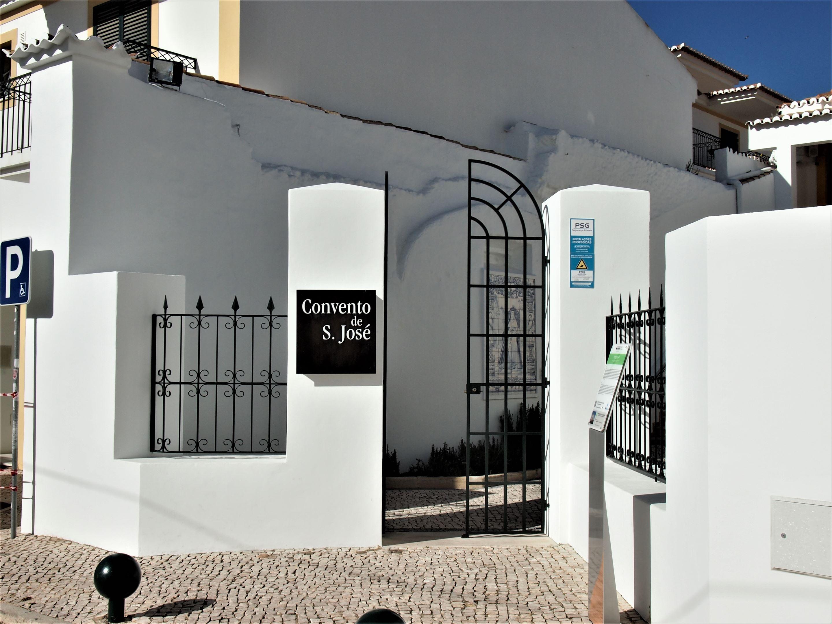 Entrance to the Convento de São José (Convent of St. Joseph) Lagoa, Algarve