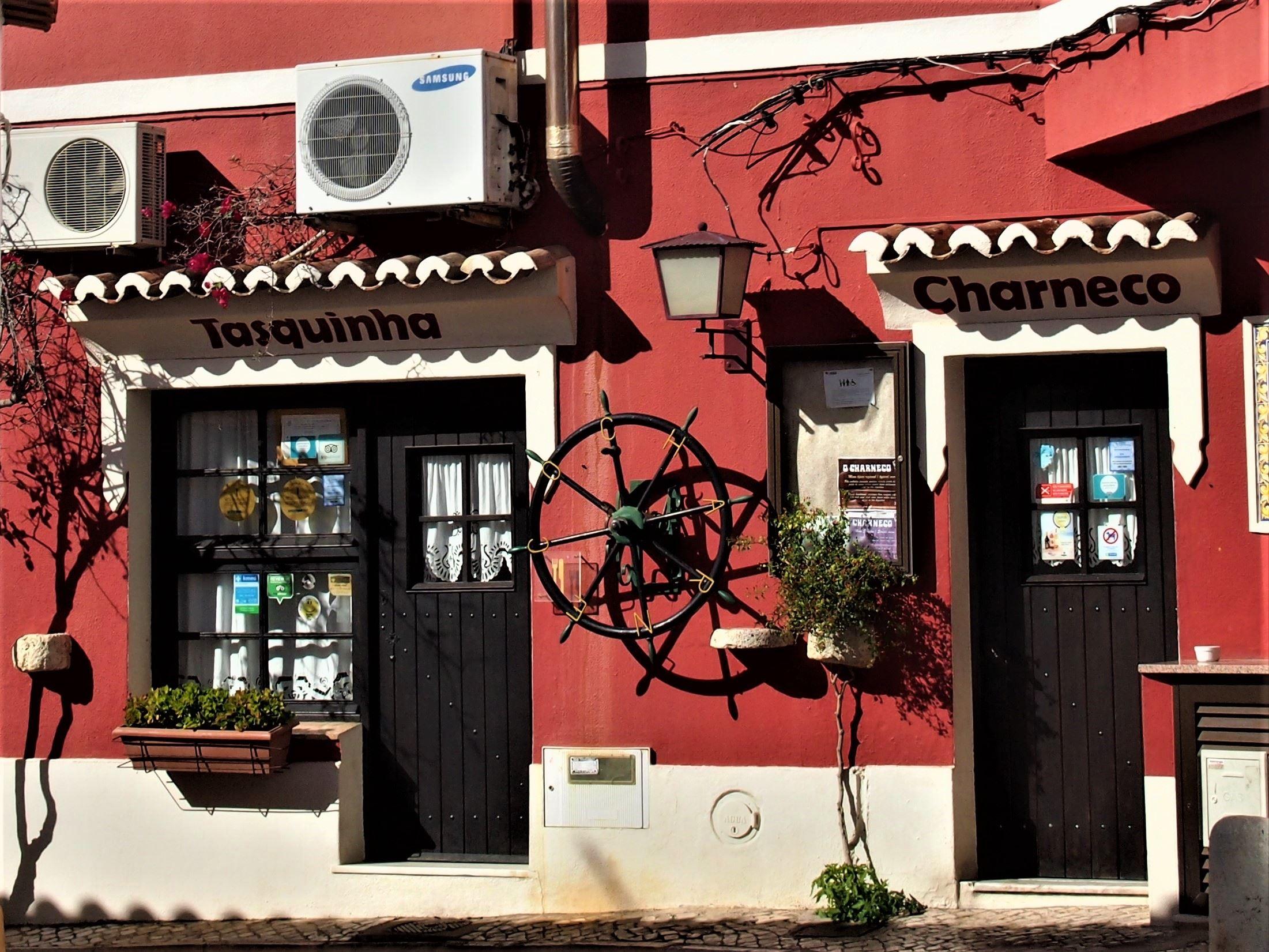 O Charneco restaurant at Estombar, Algarve