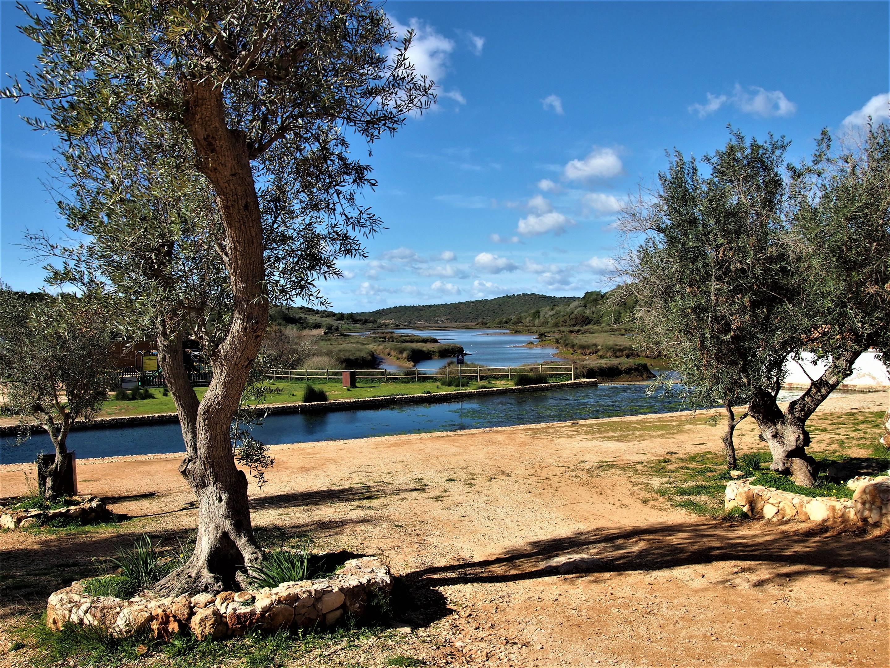 Vistas de Sítio das Fontes en Estômbar, Algarve