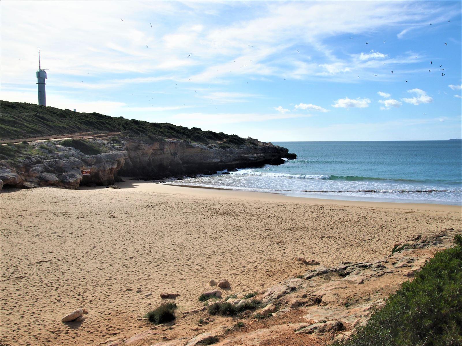 Praia do Pintadinho, Ferragudo, Algarve