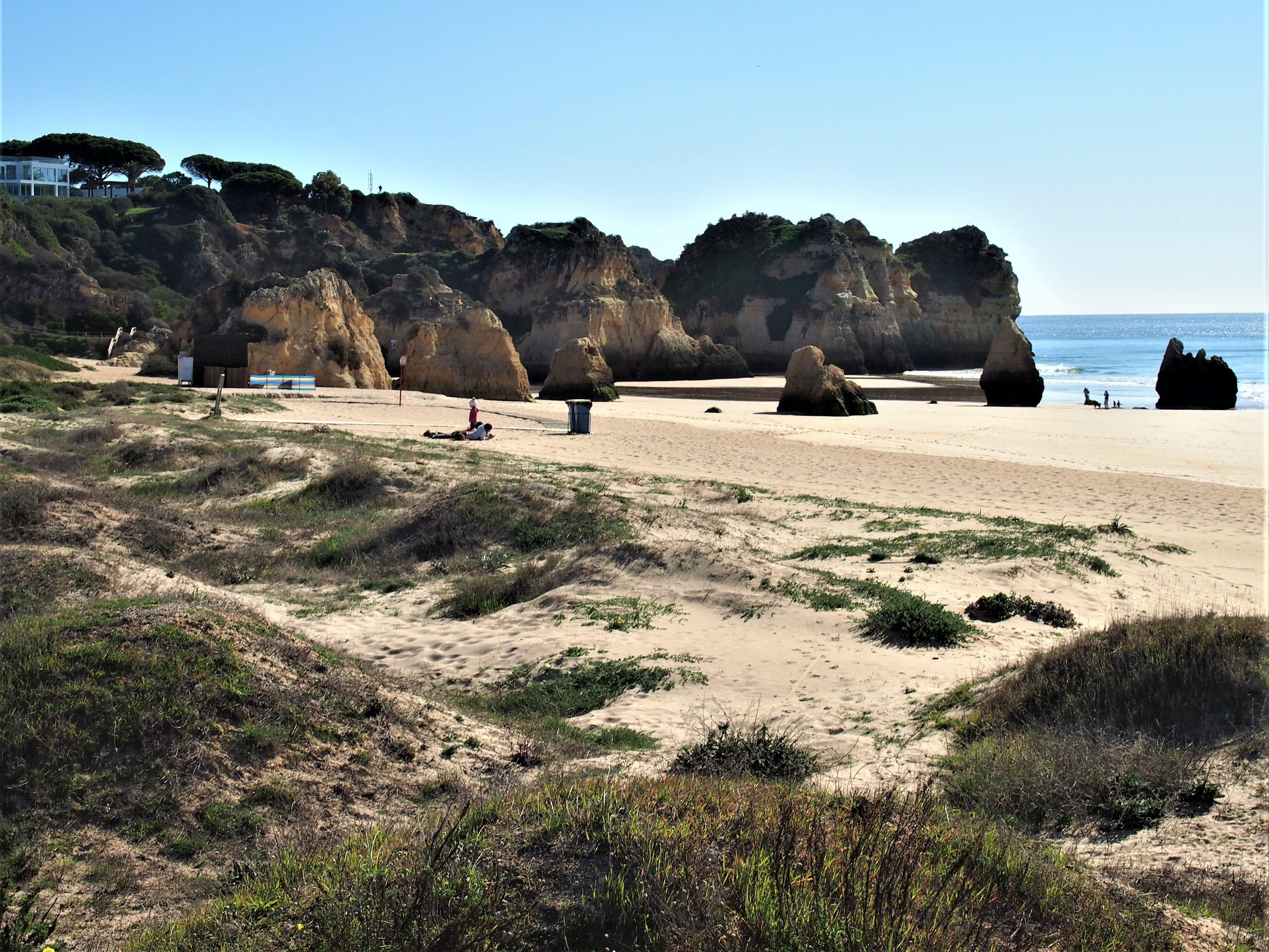 Praia dos Três Irmãos - three brothers beach - at Alvor