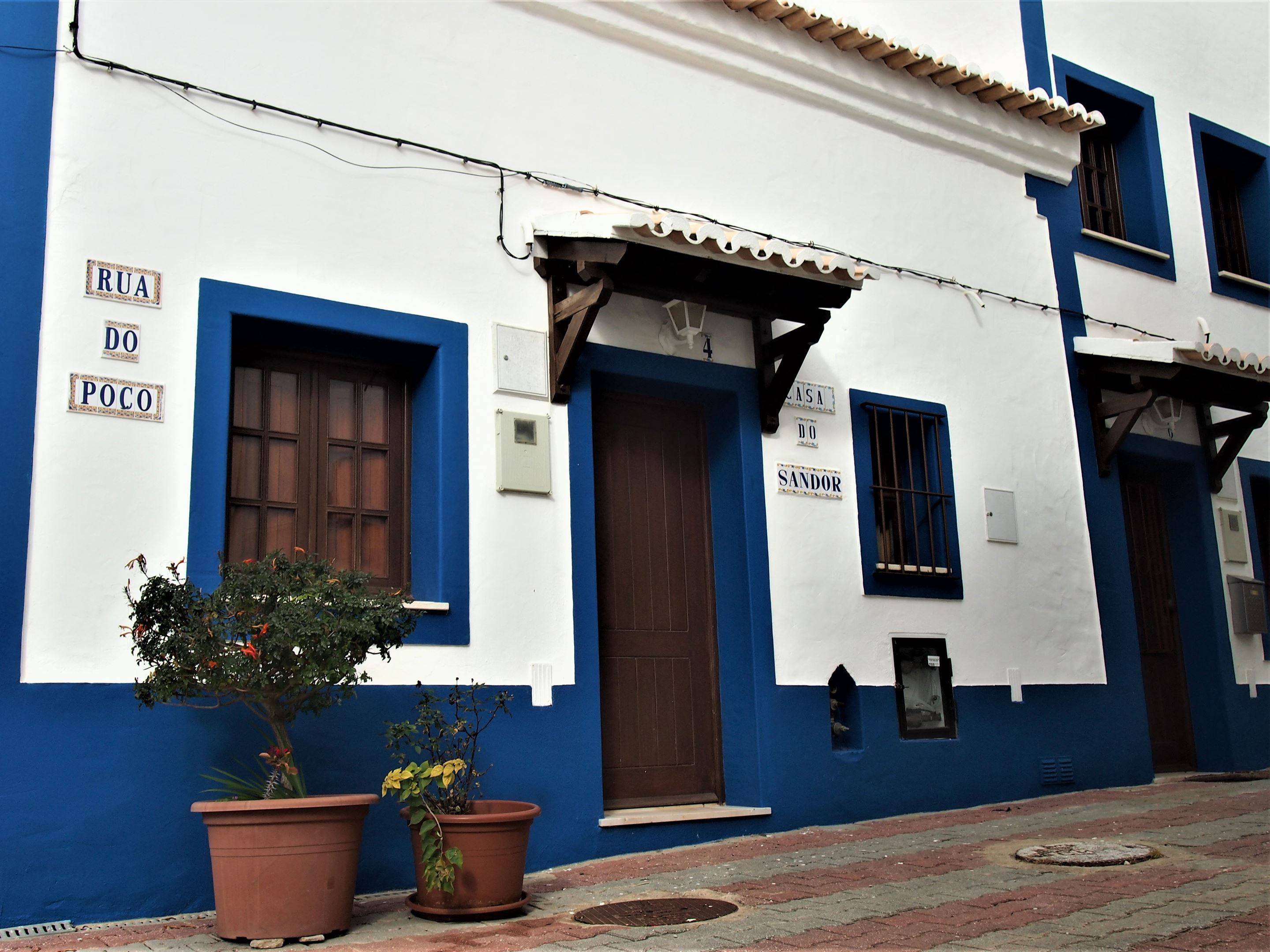 Typical Algarvean house in Burgau, Algarve