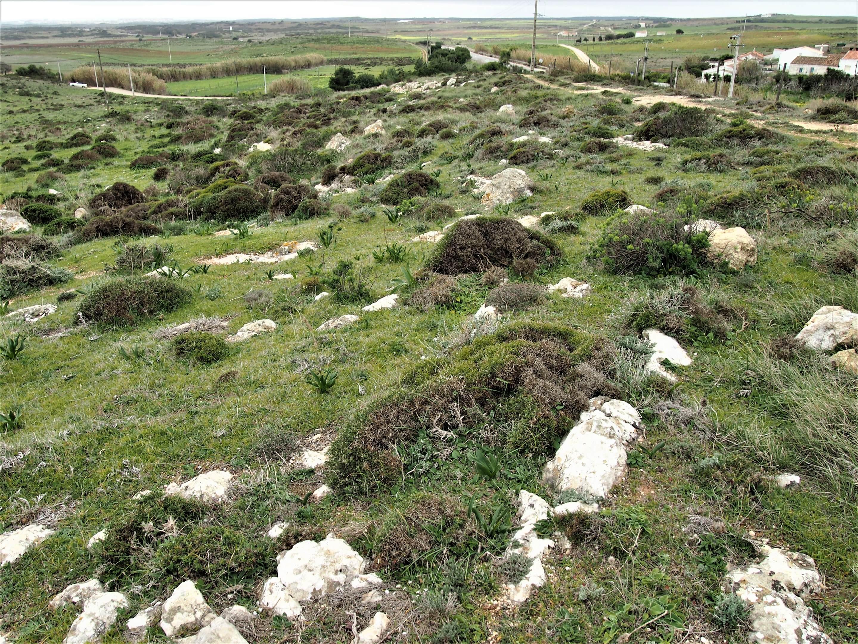 Monte dos Amantes en Vila do Bispo, Algarve occidental