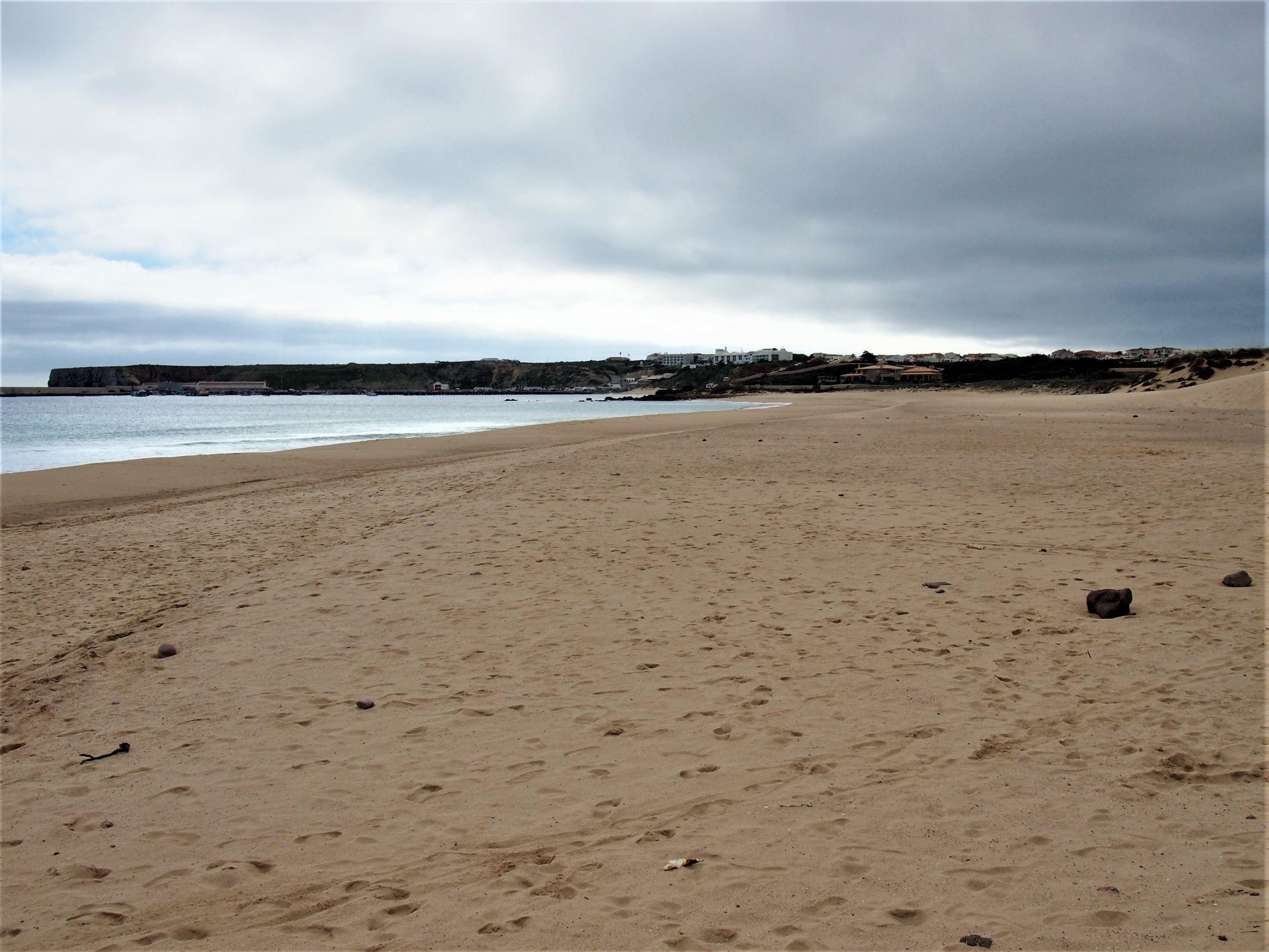 Praia do Martinhal cerca de Sagres, Algarve occidental