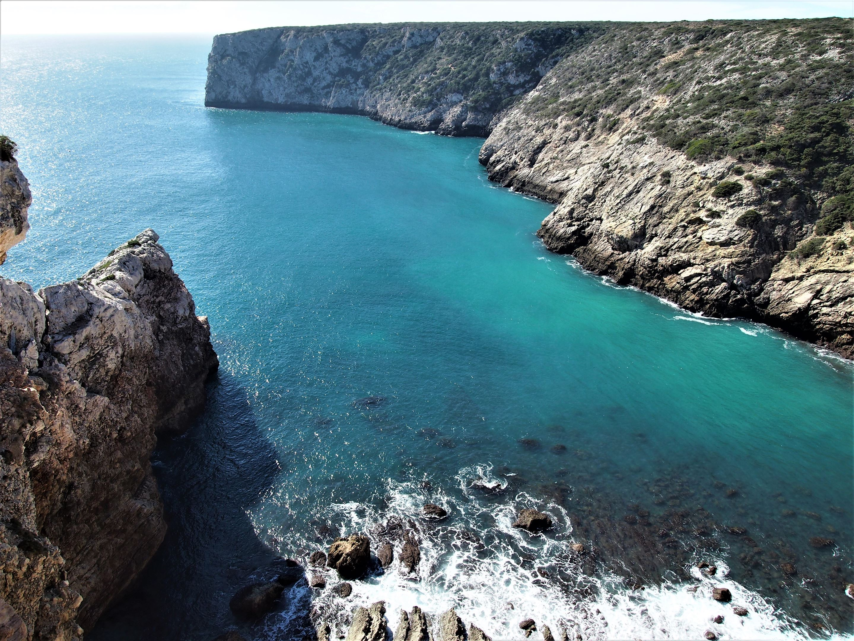 View from the cliffs at Fortaleza de Beliche, Sagres