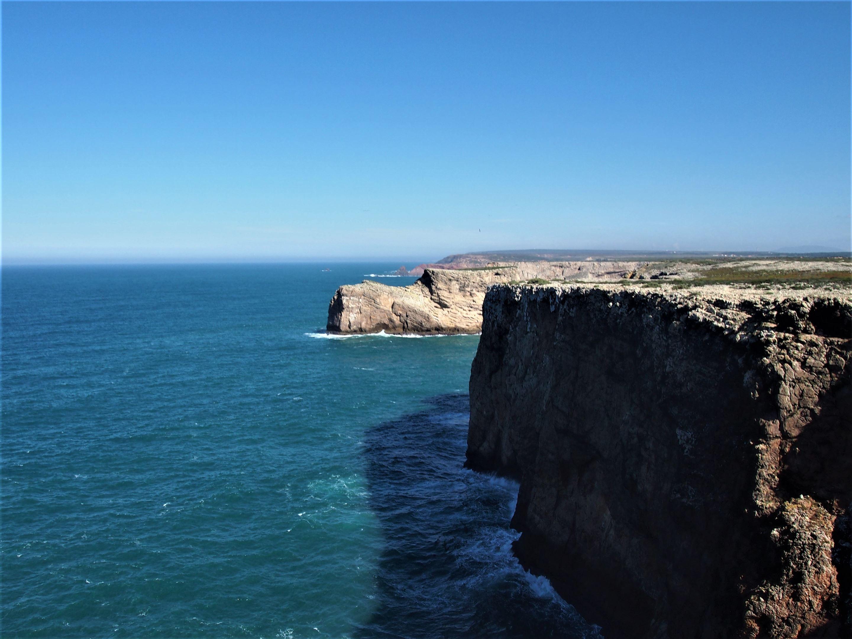 Vistas desde el Cabo de São Vicente, Sagres