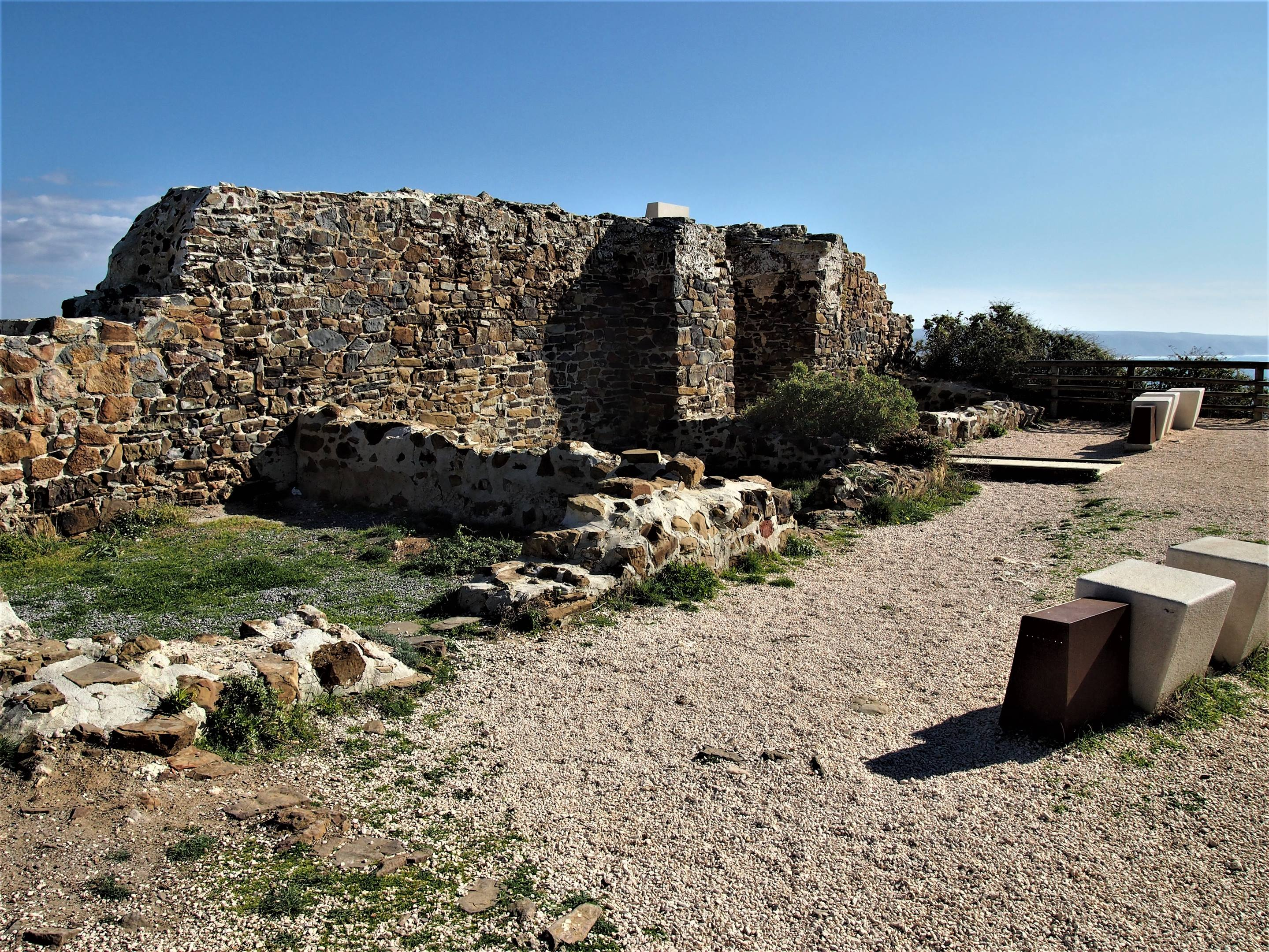 The remains of the Arrifana Fortress, Aljezur