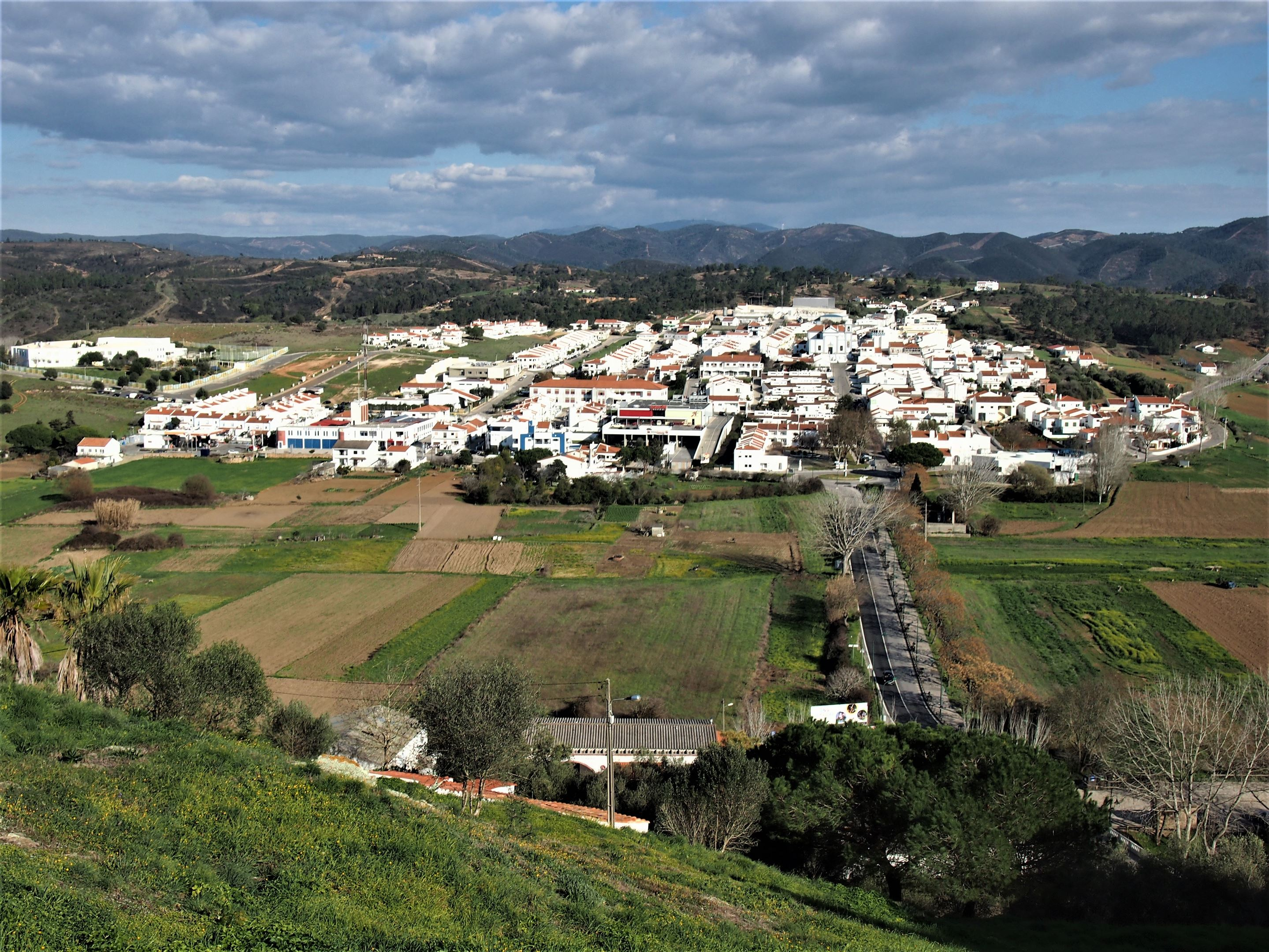 The 'new town' of Aljezur built to relocate the residents following an outbreak of malaria in the 18th Century