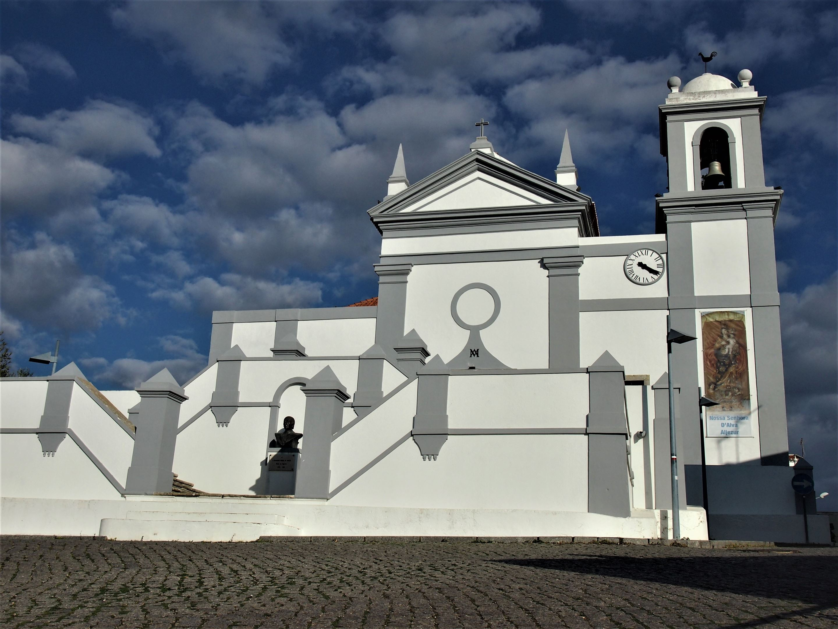 The Igreja Matriz de Nossa Senhora da Alva or New Church, Aljezur