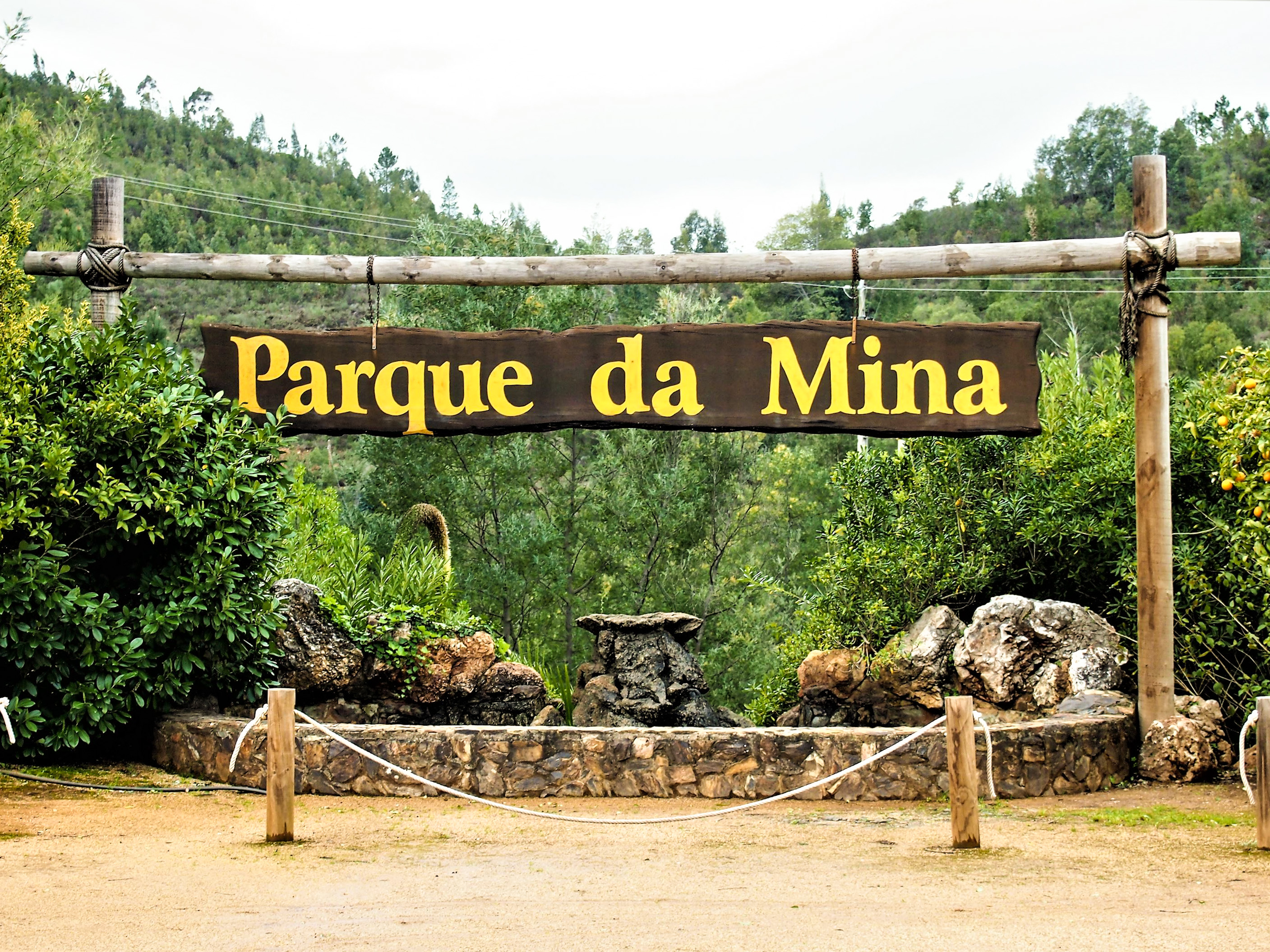 Parque da Mina or Mine Park near Monchique