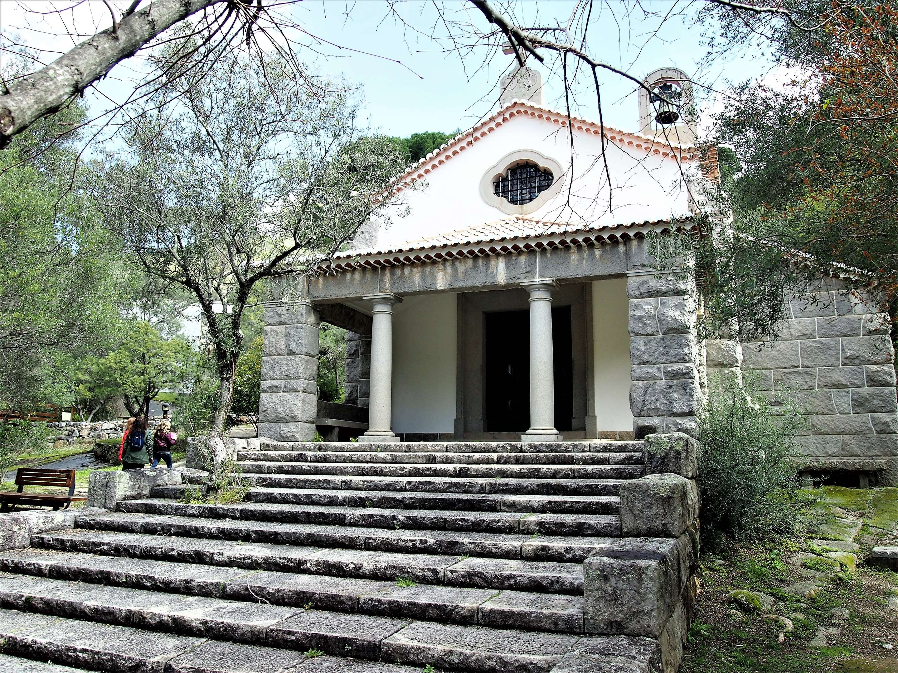 The small church at Caldas de Monchique. Want to get married here?