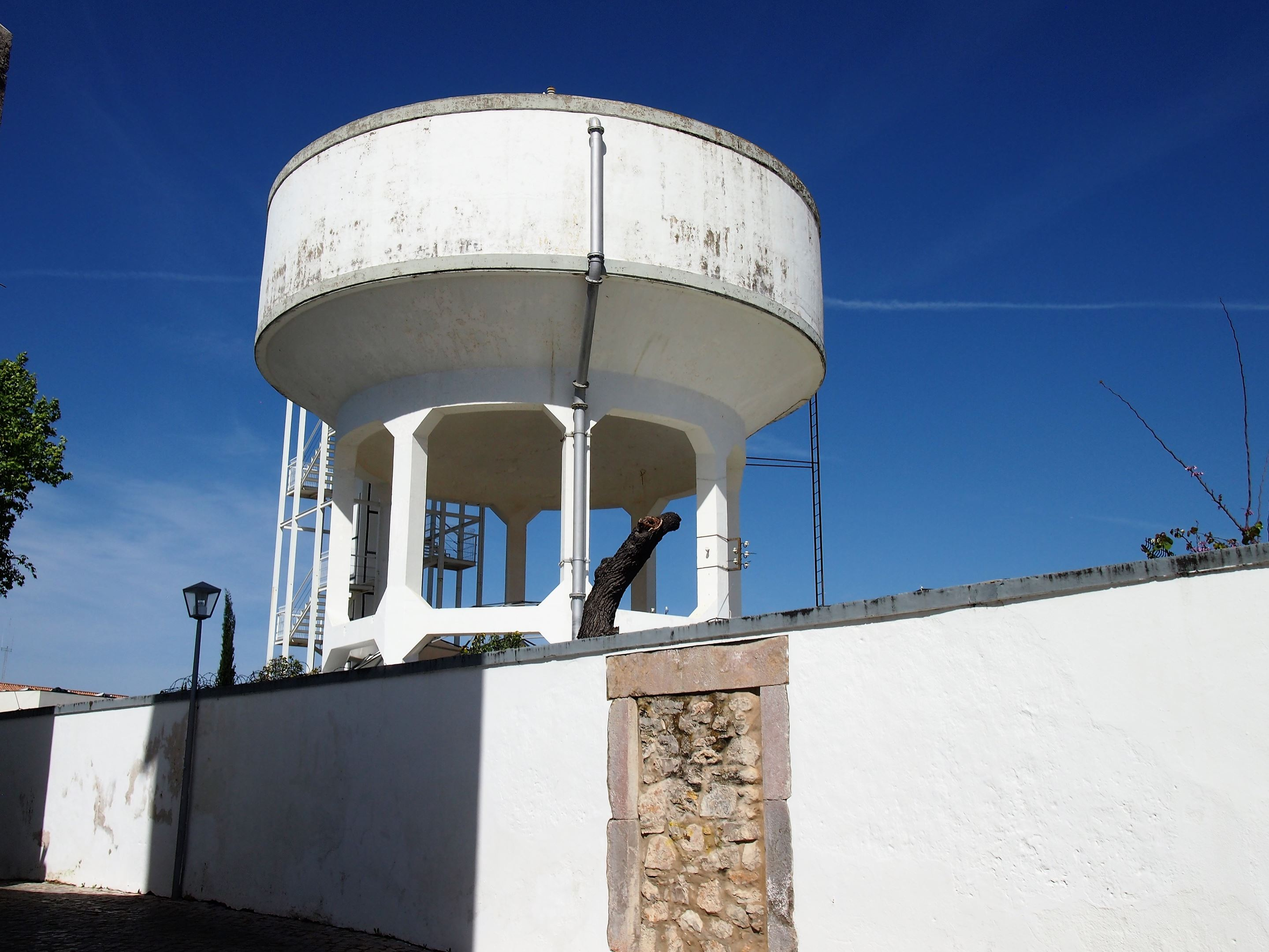 Torre de Tavira, a Camera Obscura located at the top of a water tower, Tavira