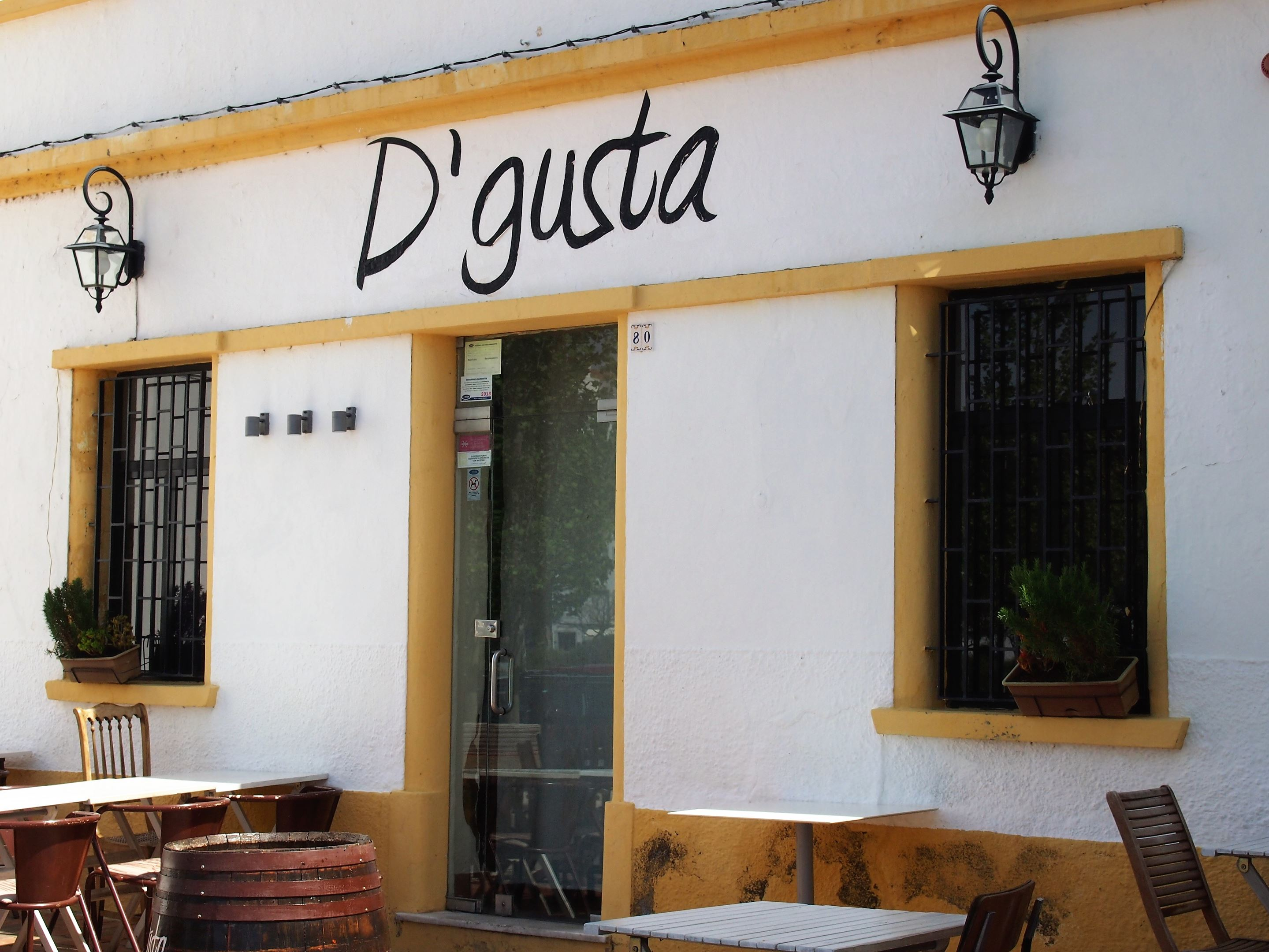 Restaurante D'Gusta, Tavira