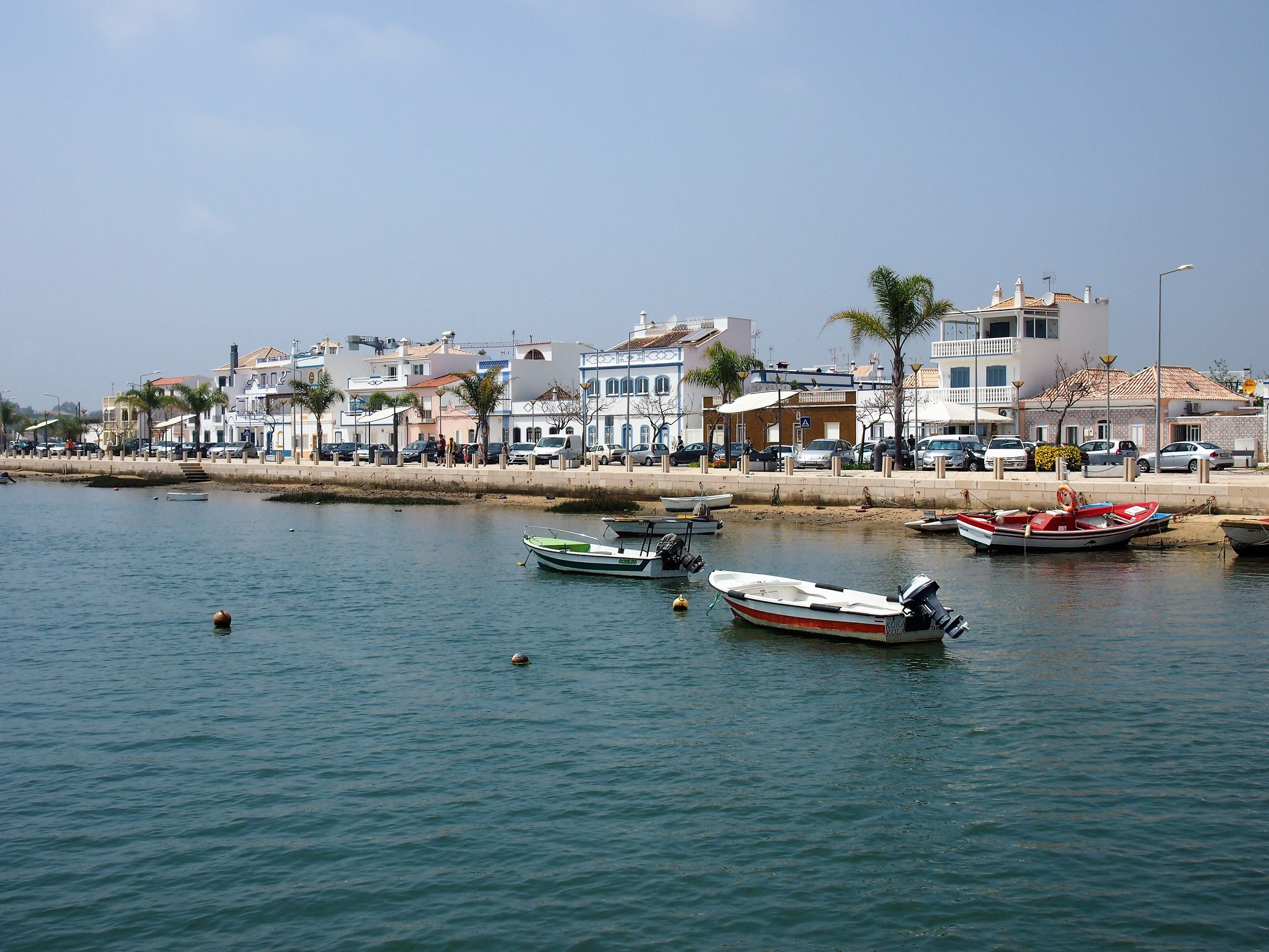 Santa Luzia. View from the ferry.