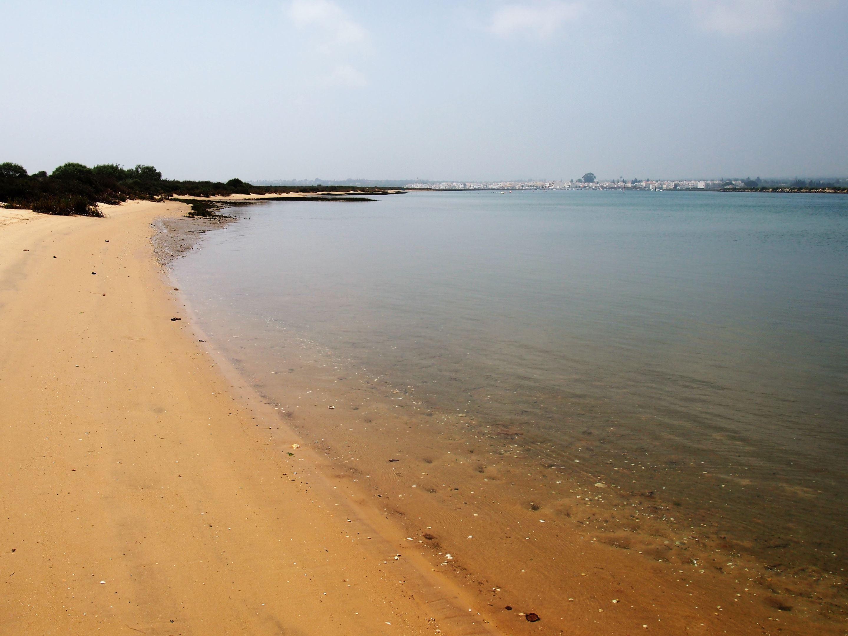 Ilha de Tavira, with Santa Luzia in the background - near Tavira