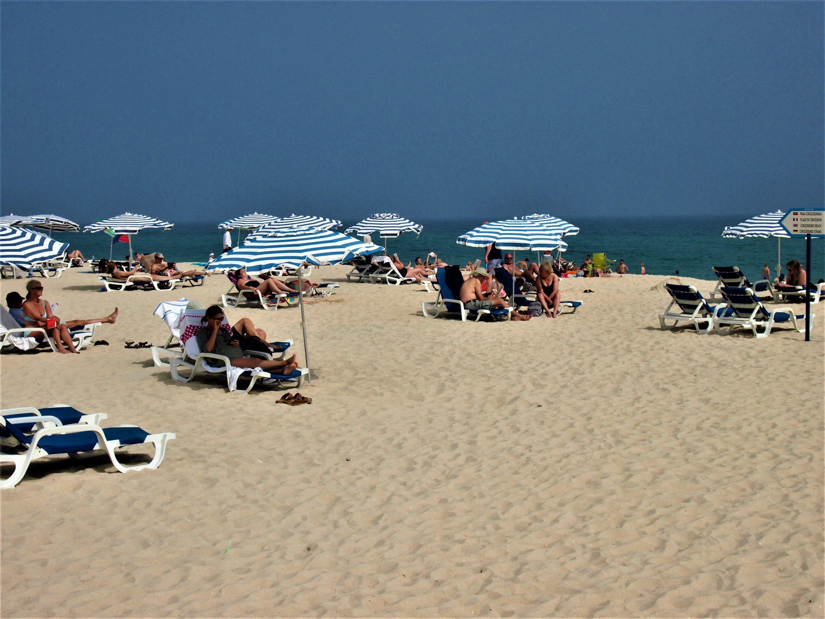 Praia do Barril near Tavira